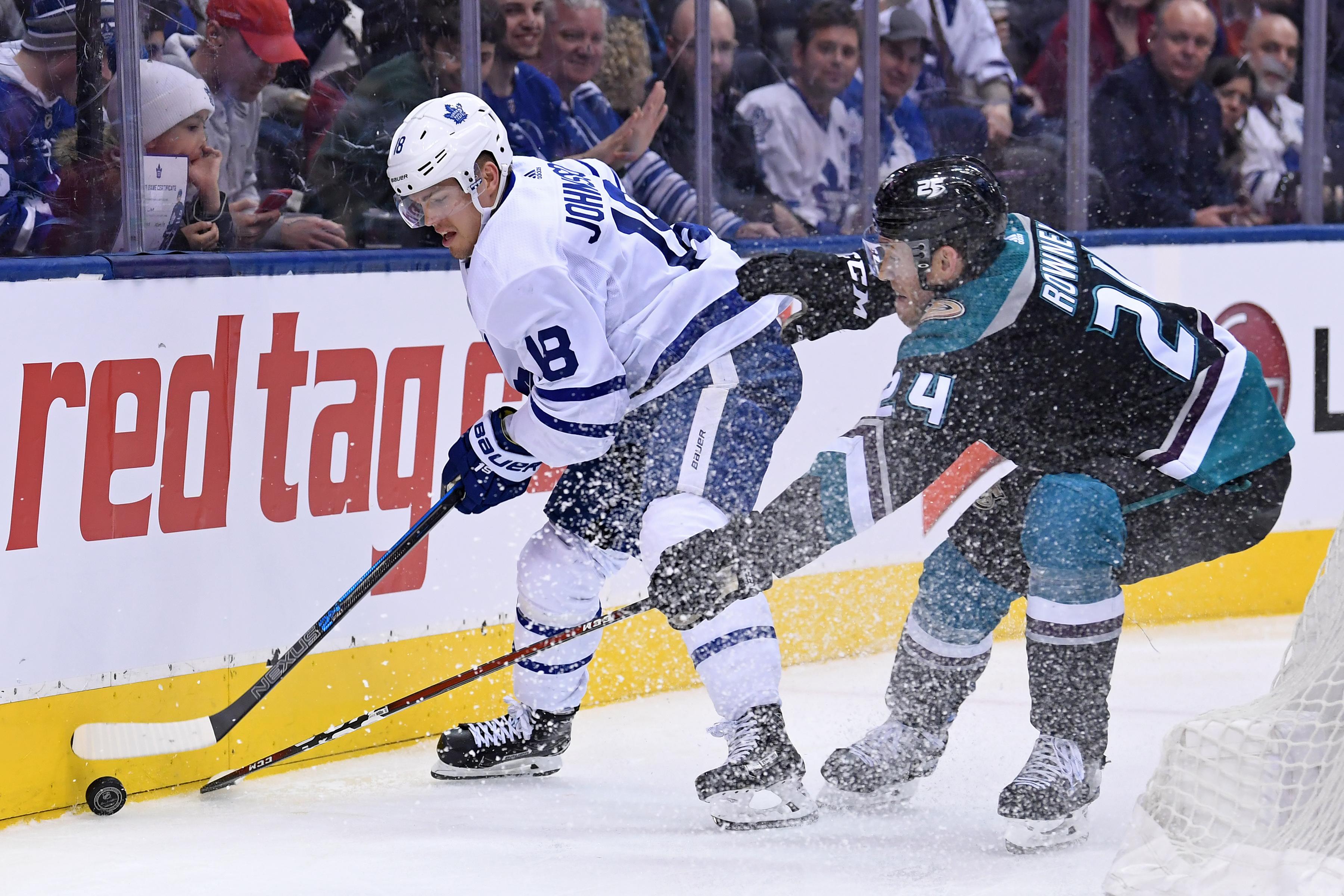 NHL: FEB 04 Ducks at Maple Leafs