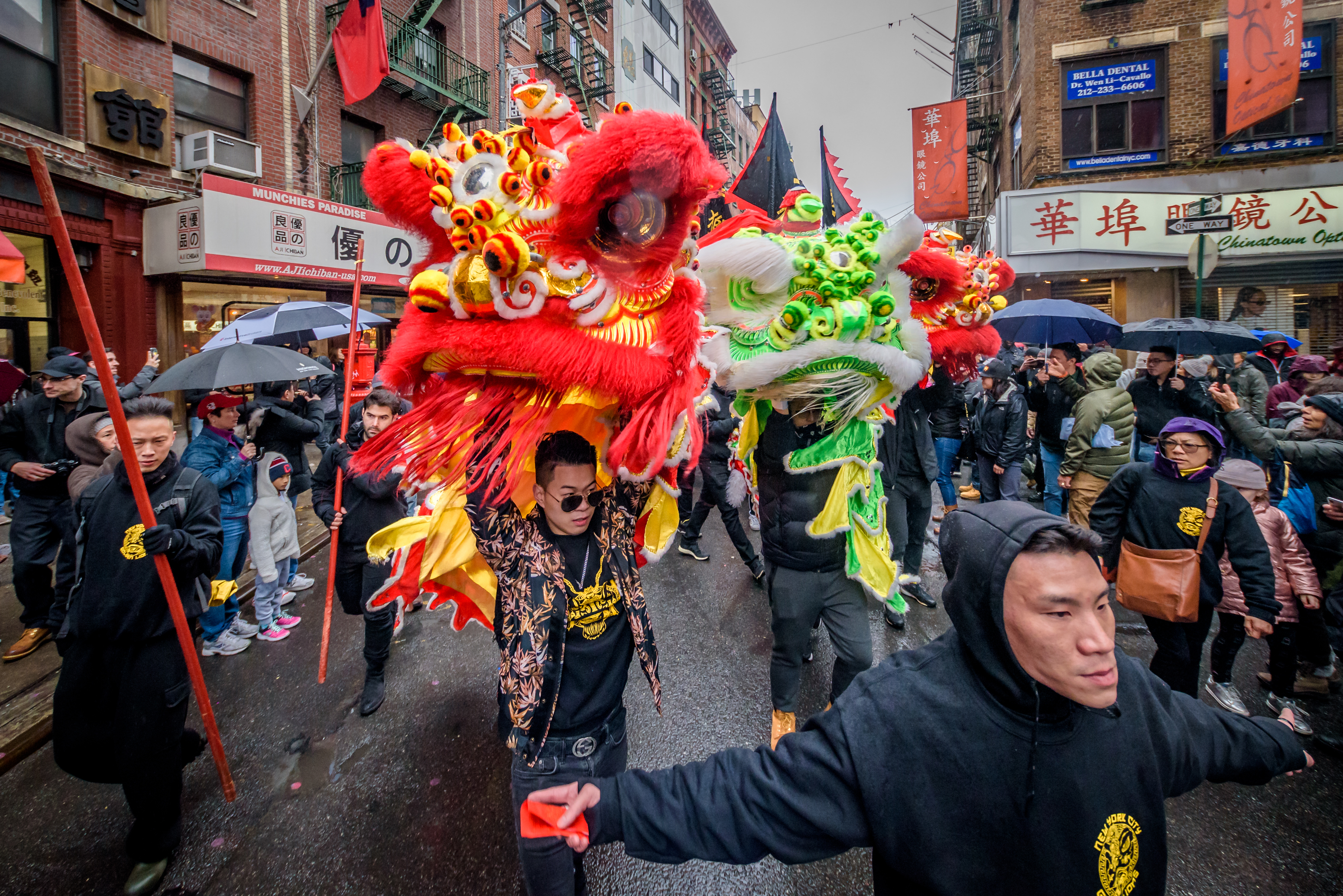 Chinatown Lunar New Year Parade In New York