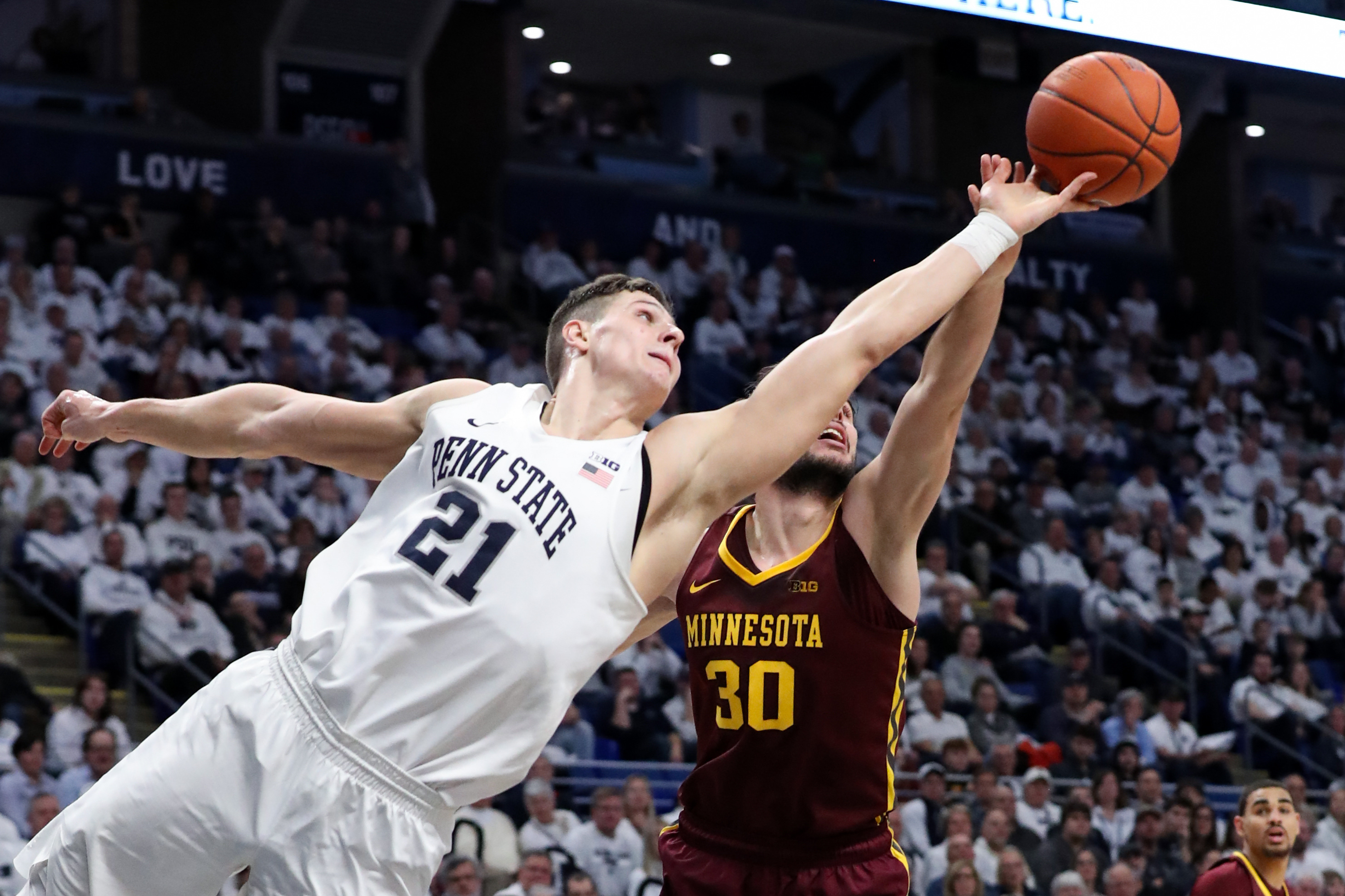 NCAA Basketball: Minnesota at Penn State
