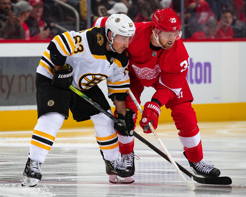 Boston Bruins v Detroit Red Wings