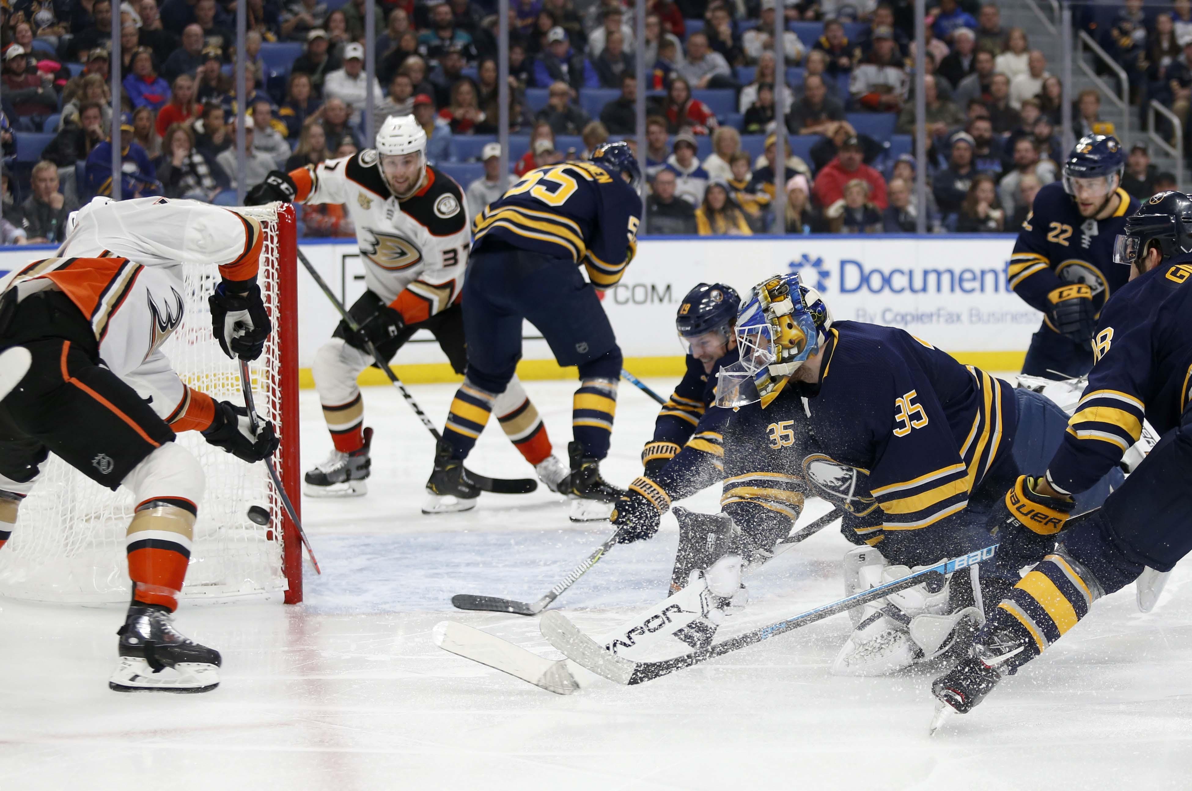 NHL: Anaheim Ducks at Buffalo Sabres