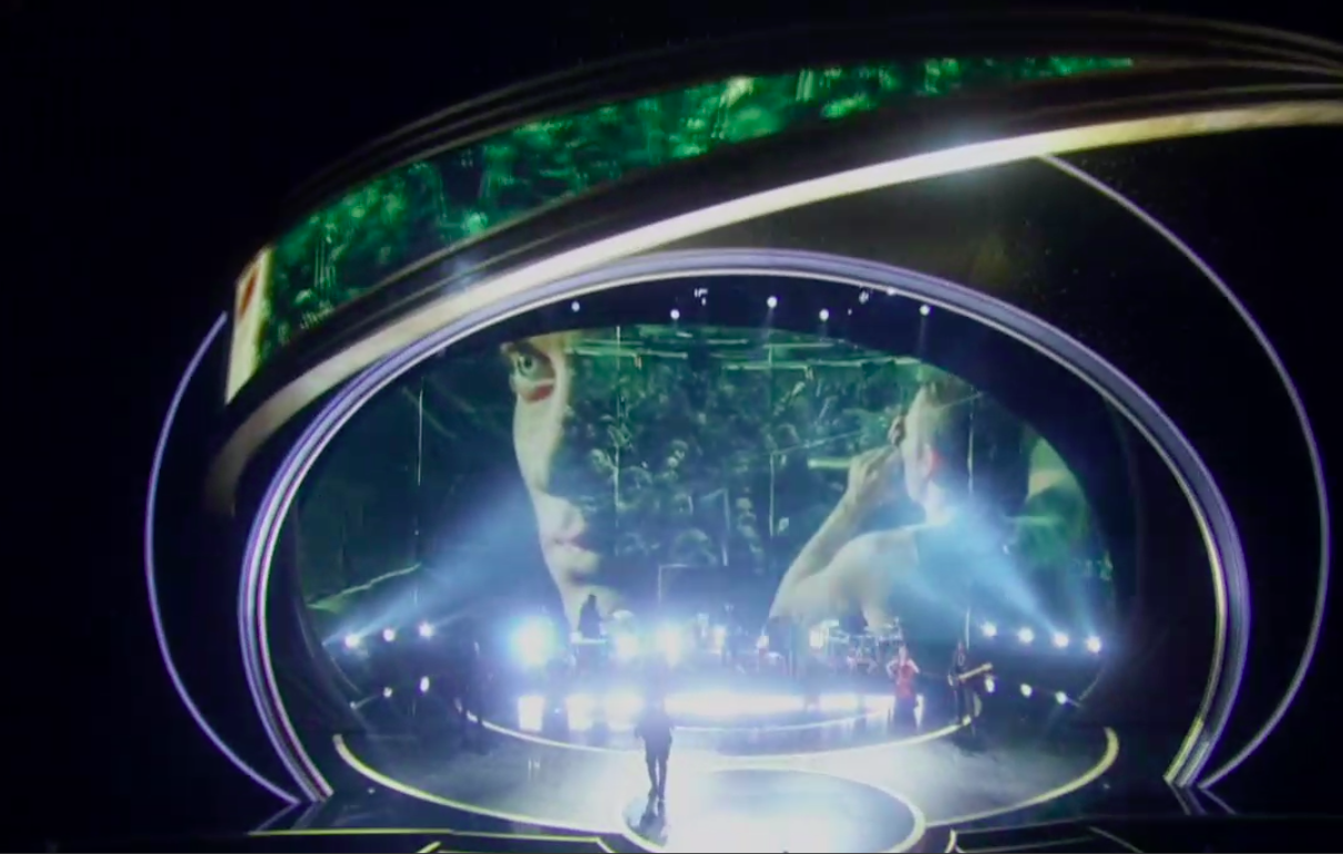 """Eminem singing """"Lose Yourself"""" was the most baffling Oscars moment. It was also a milestone."""
