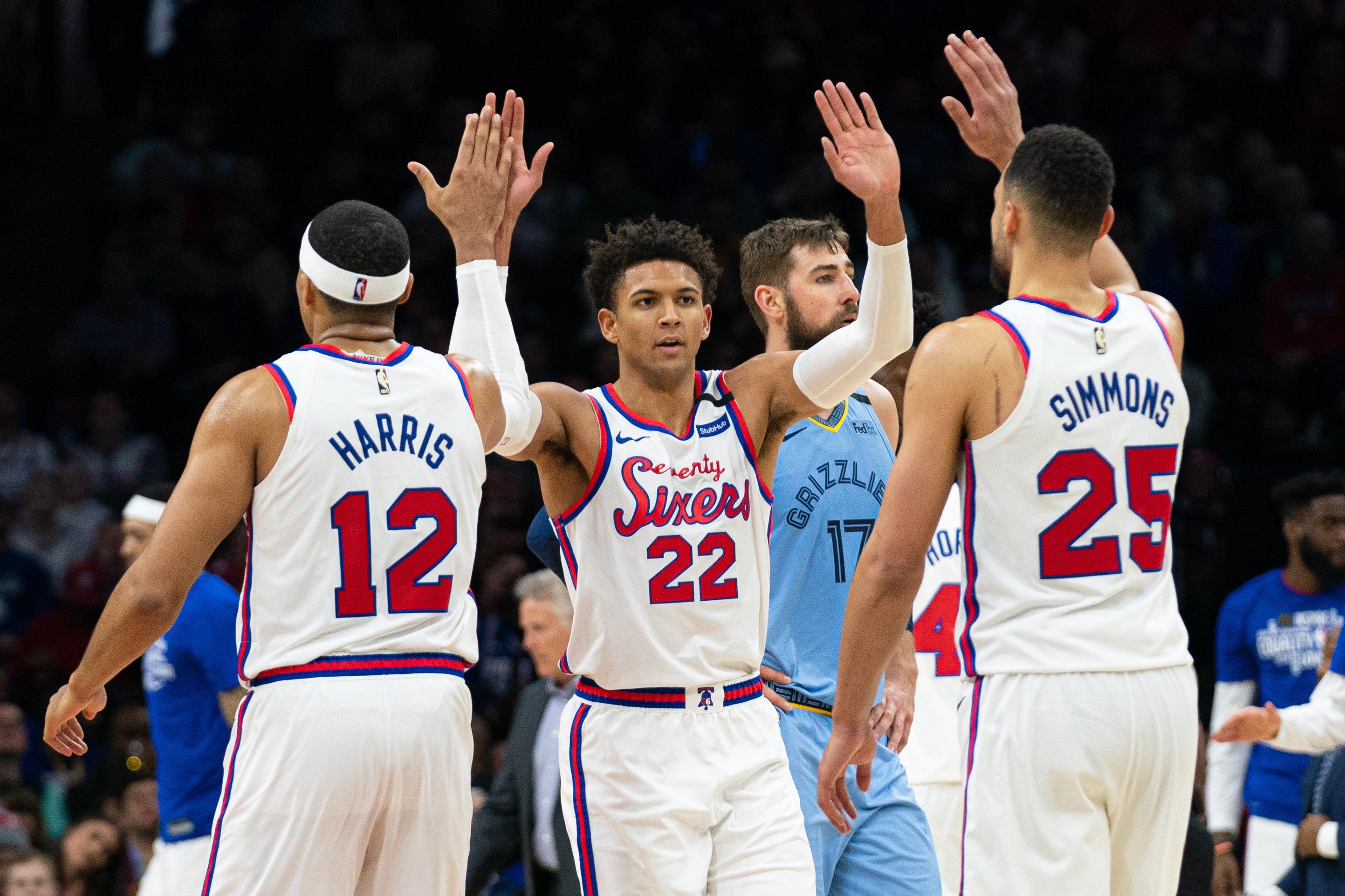 NBA: Memphis Grizzlies at Philadelphia 76ers