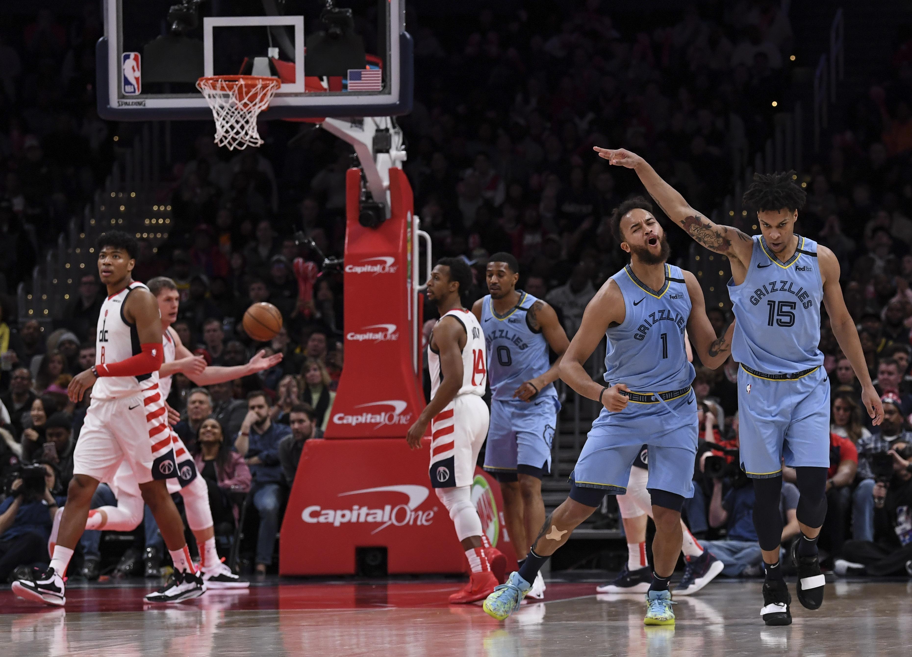 NBA Memphis Grizzlies vs Washington Wizards