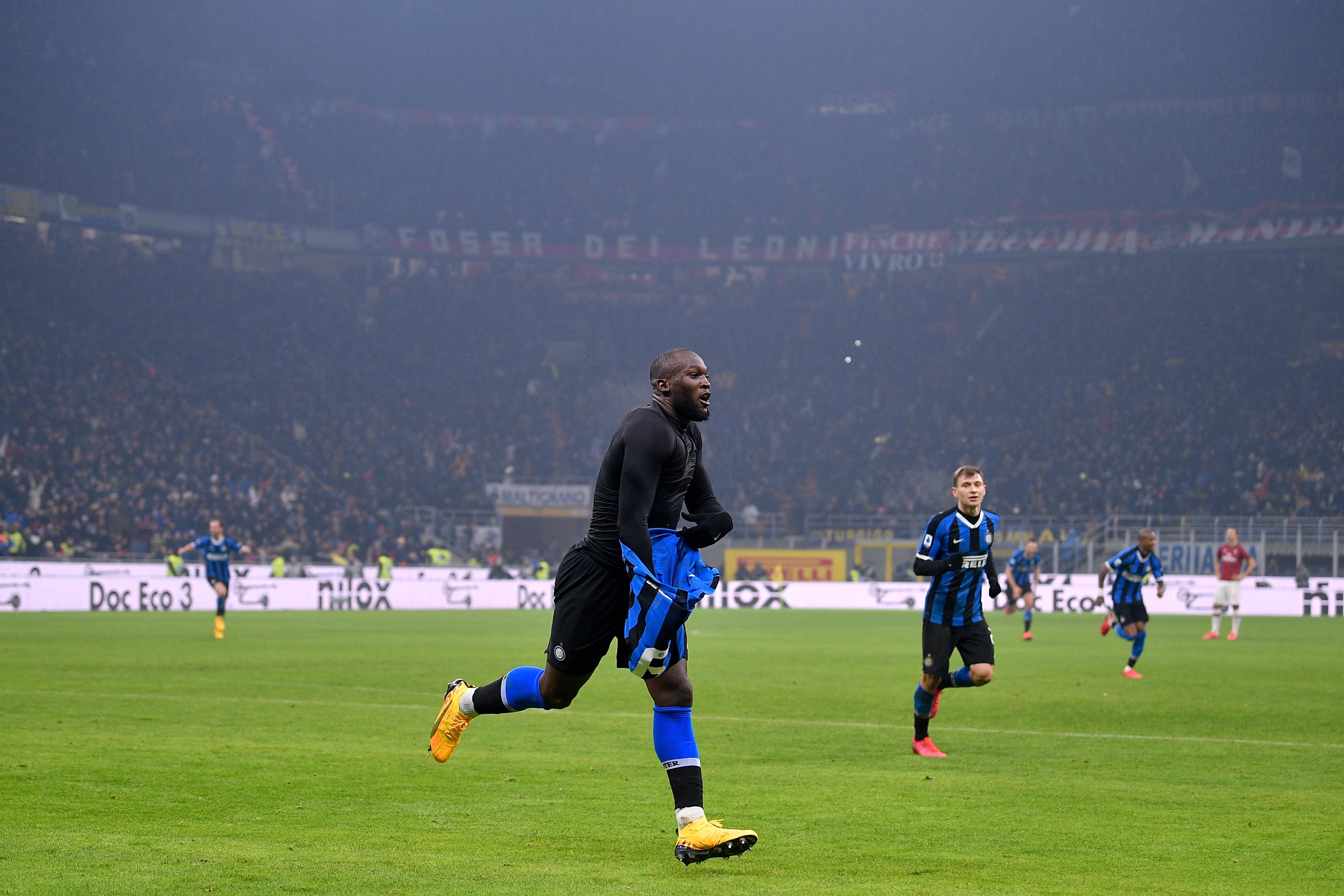Internazionale v AC Milan - Italian Serie A