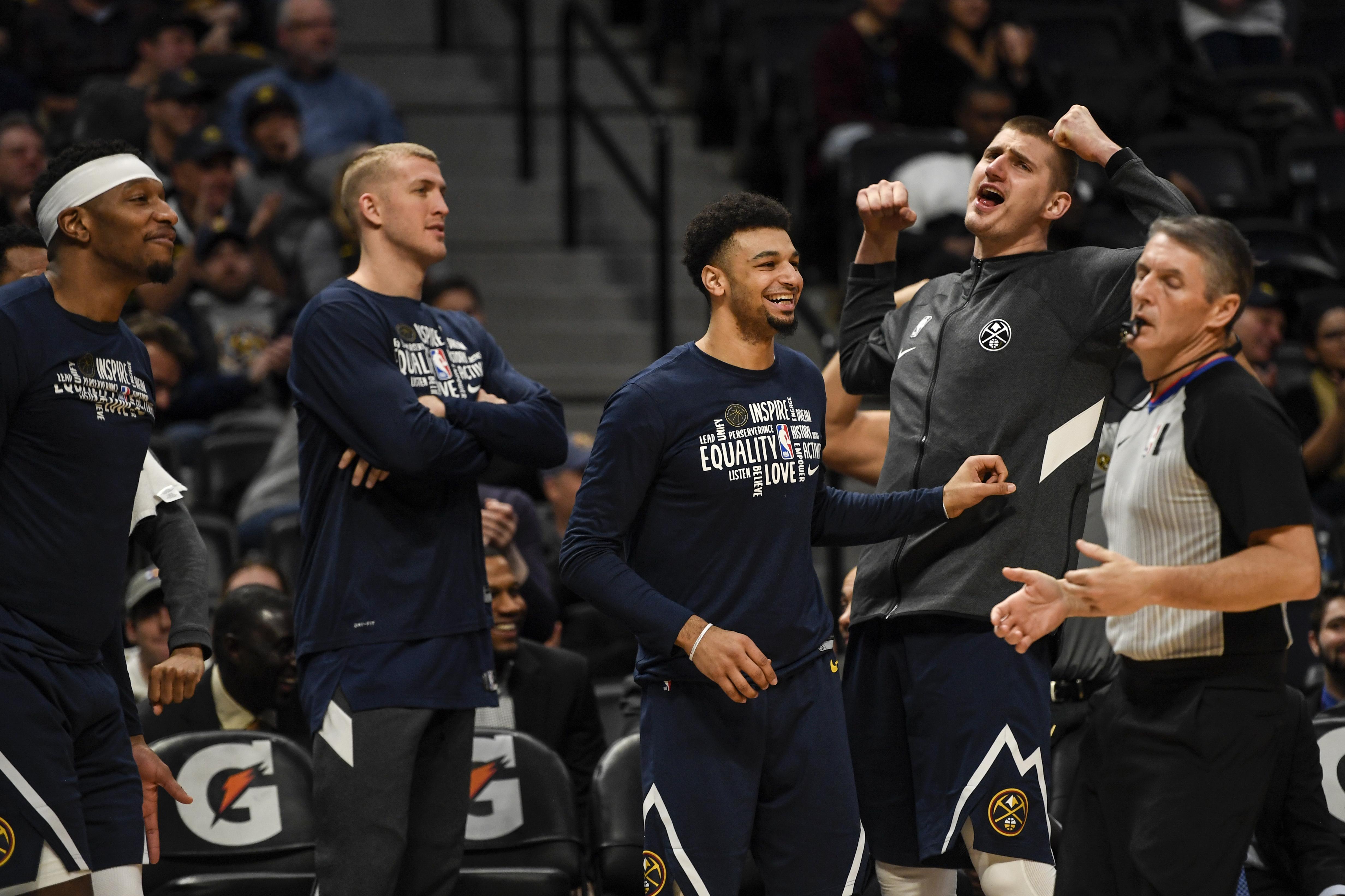 DENVER NUGGETS VS PORTLAND TRAIL BLAZERS, NBA REGULAR SEASON