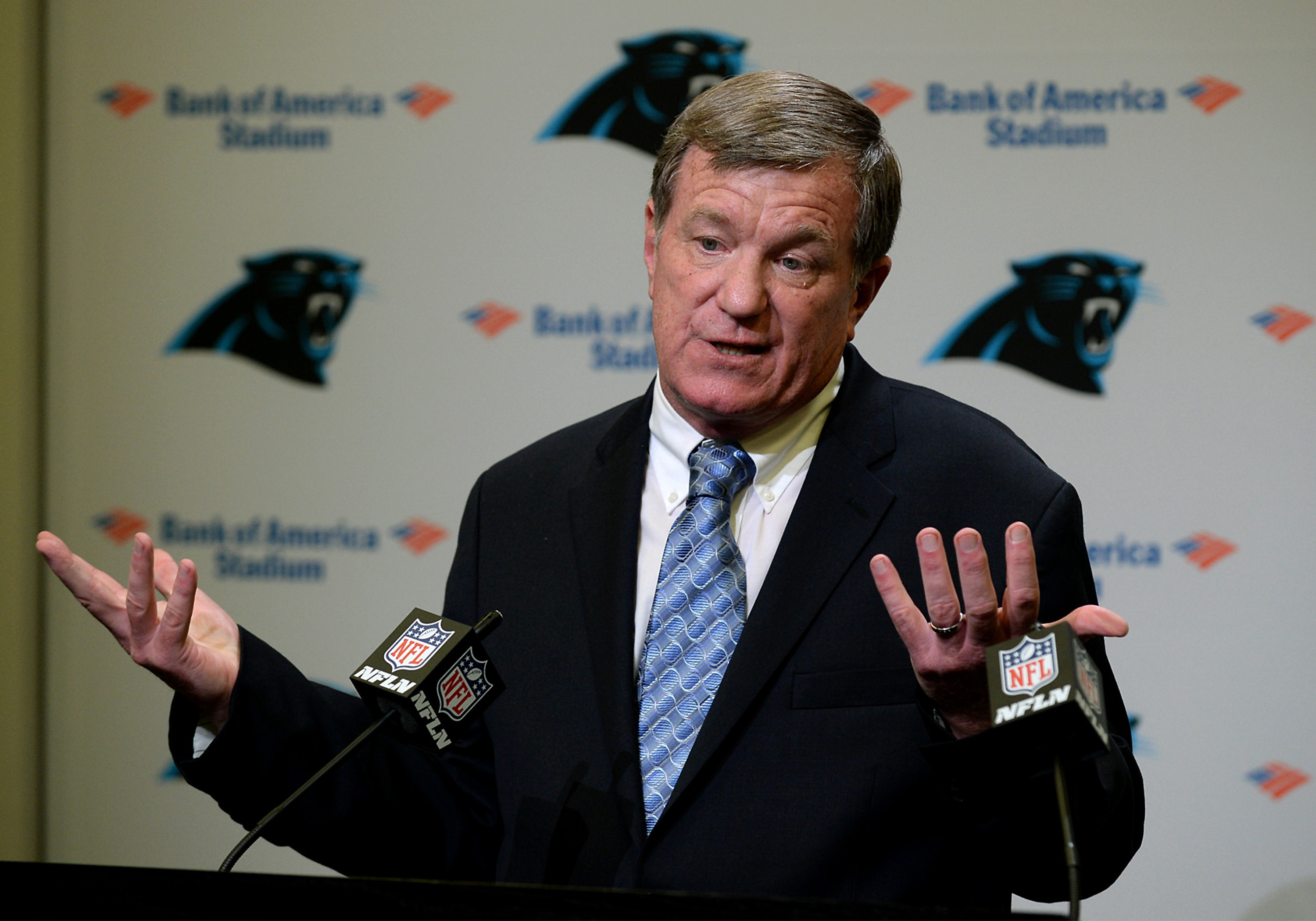 Carolina Panthers introduce new GM