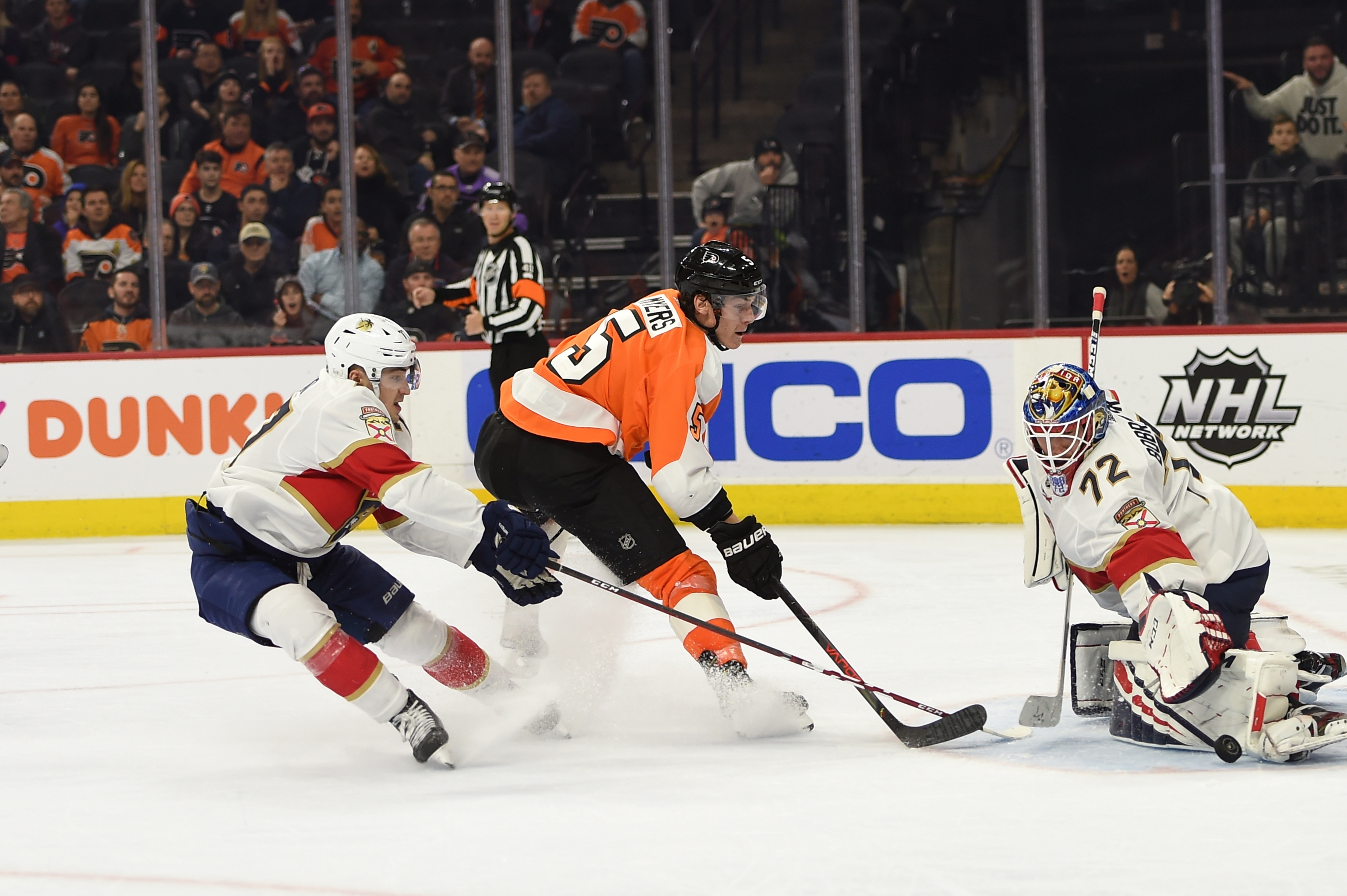 NHL: FEB 10 Panthers at Flyers