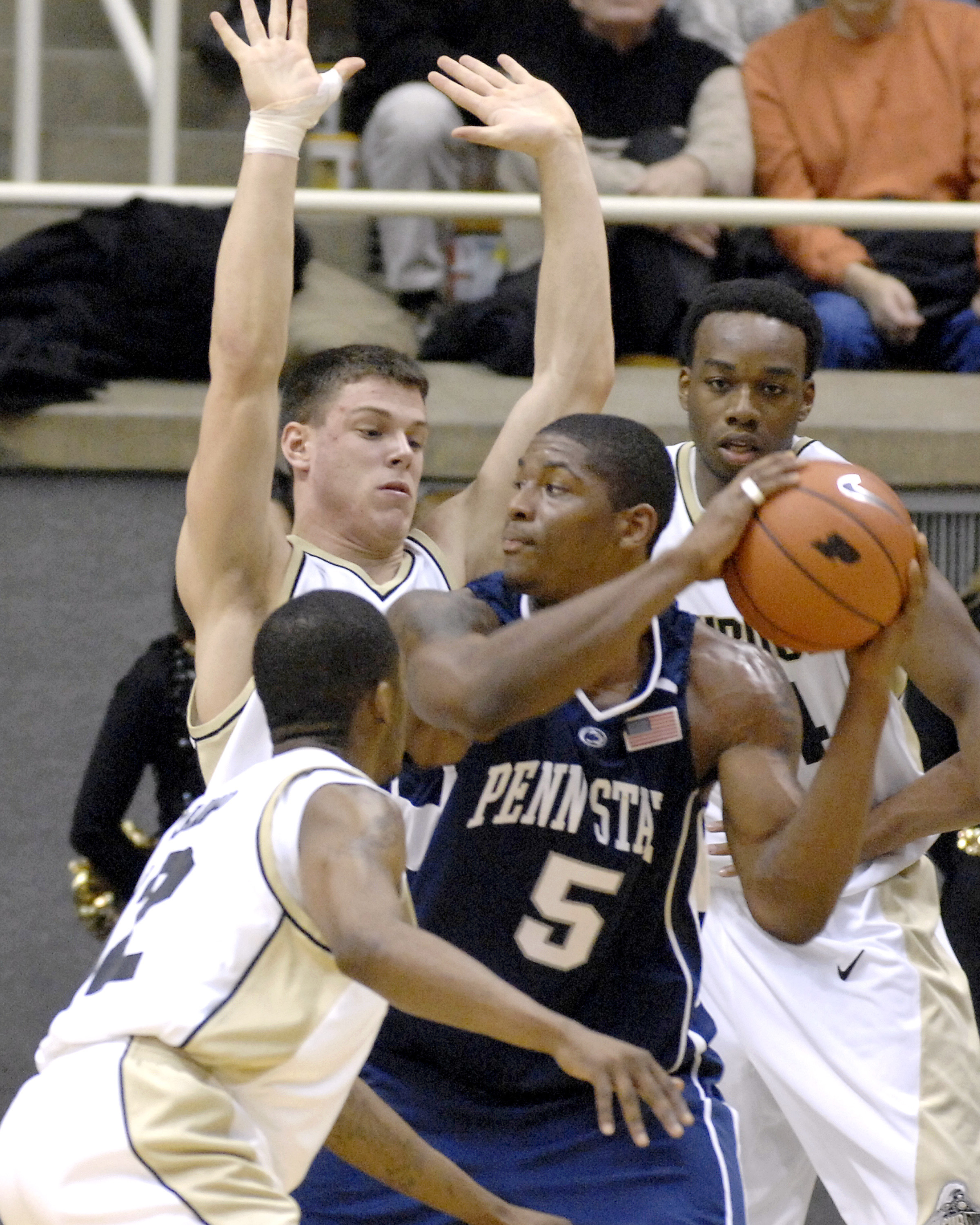 NCAA Men's Basketball - Penn State vs Purdue - January 6, 2007
