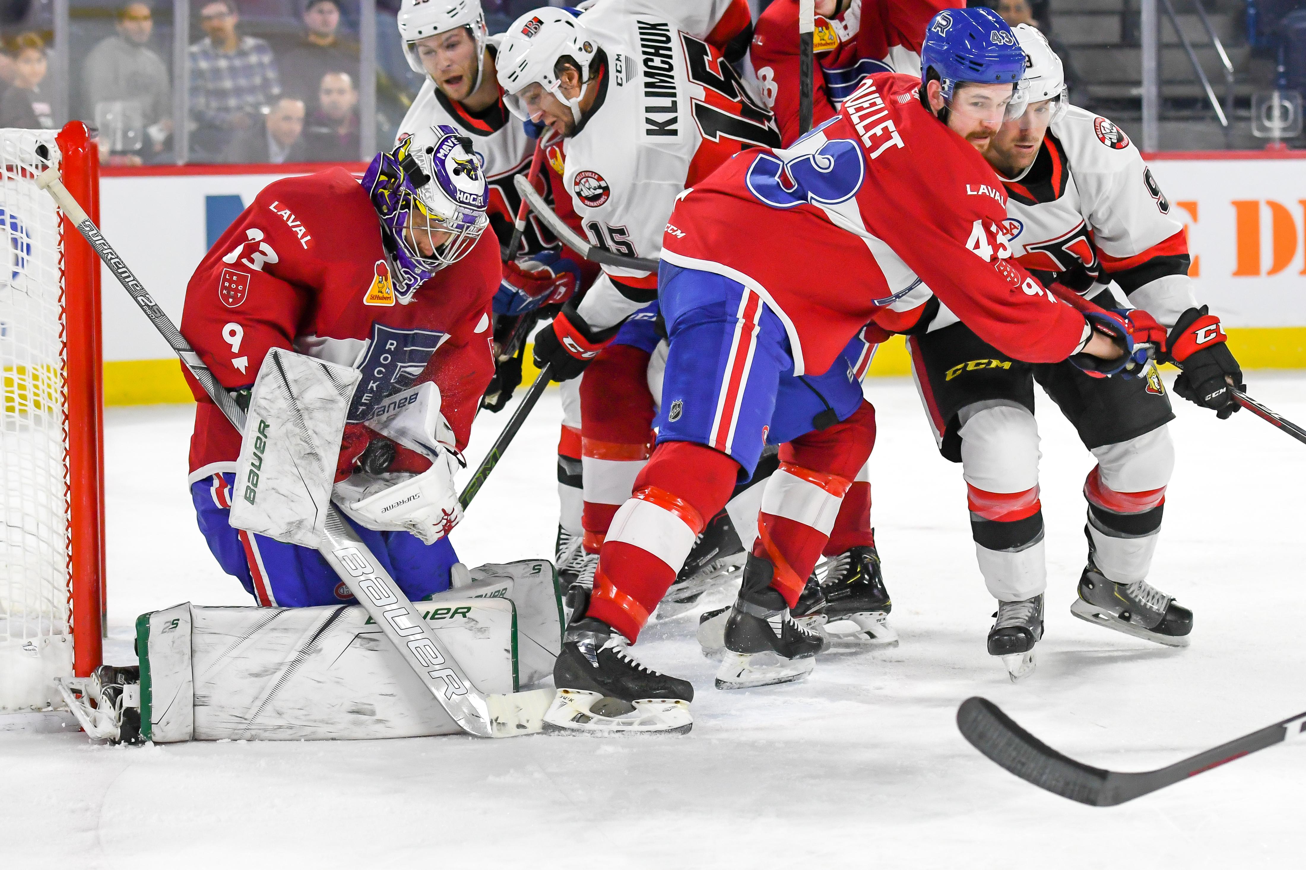 Belleville Senators v Laval Rocket