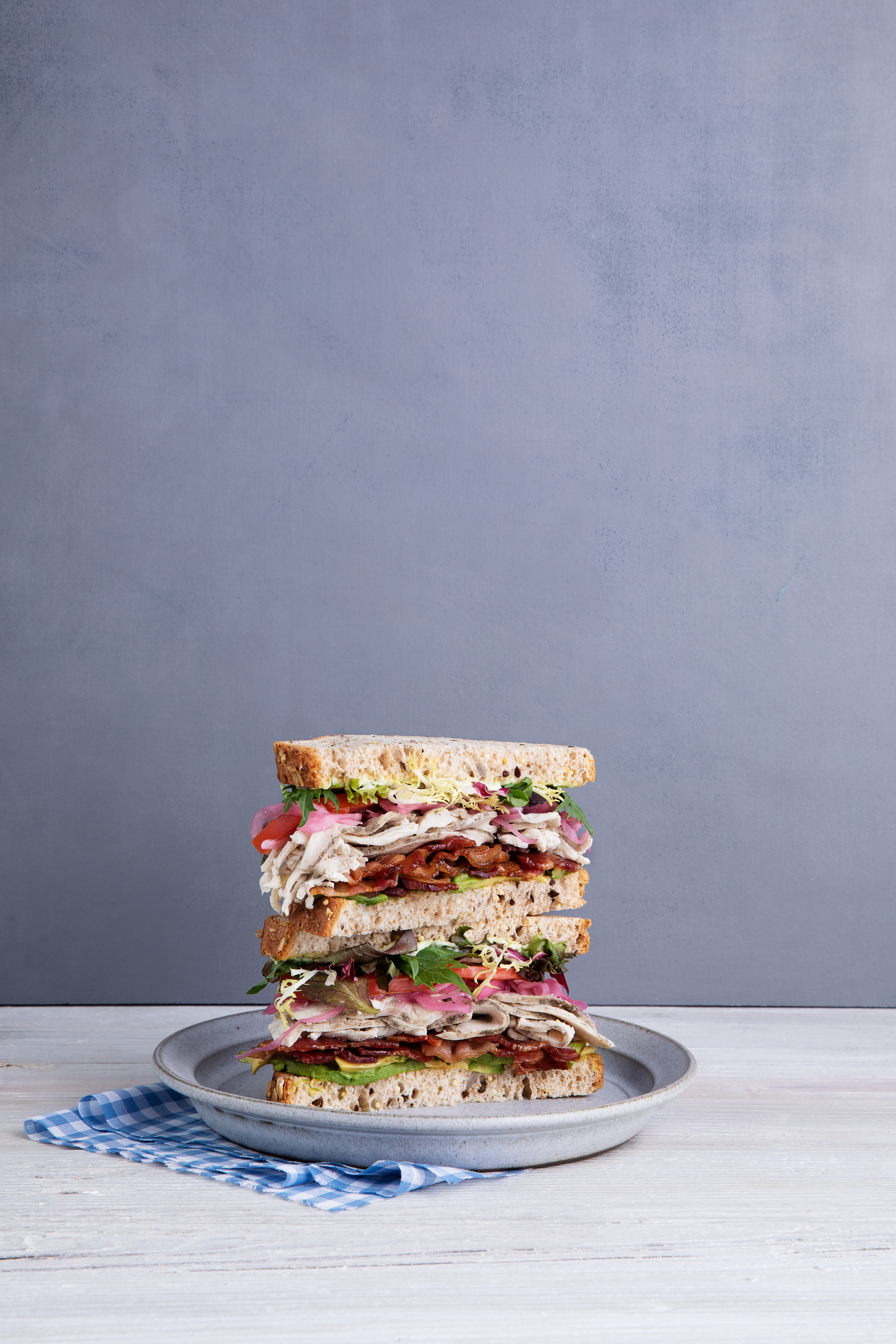 The Farm Club sandwich