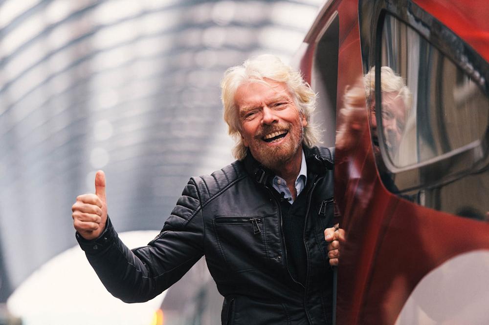 Sir Richard Branson, the billionaire behind Virgin Trains USA, creator of a rail link headed to Las Vegas in 2023.