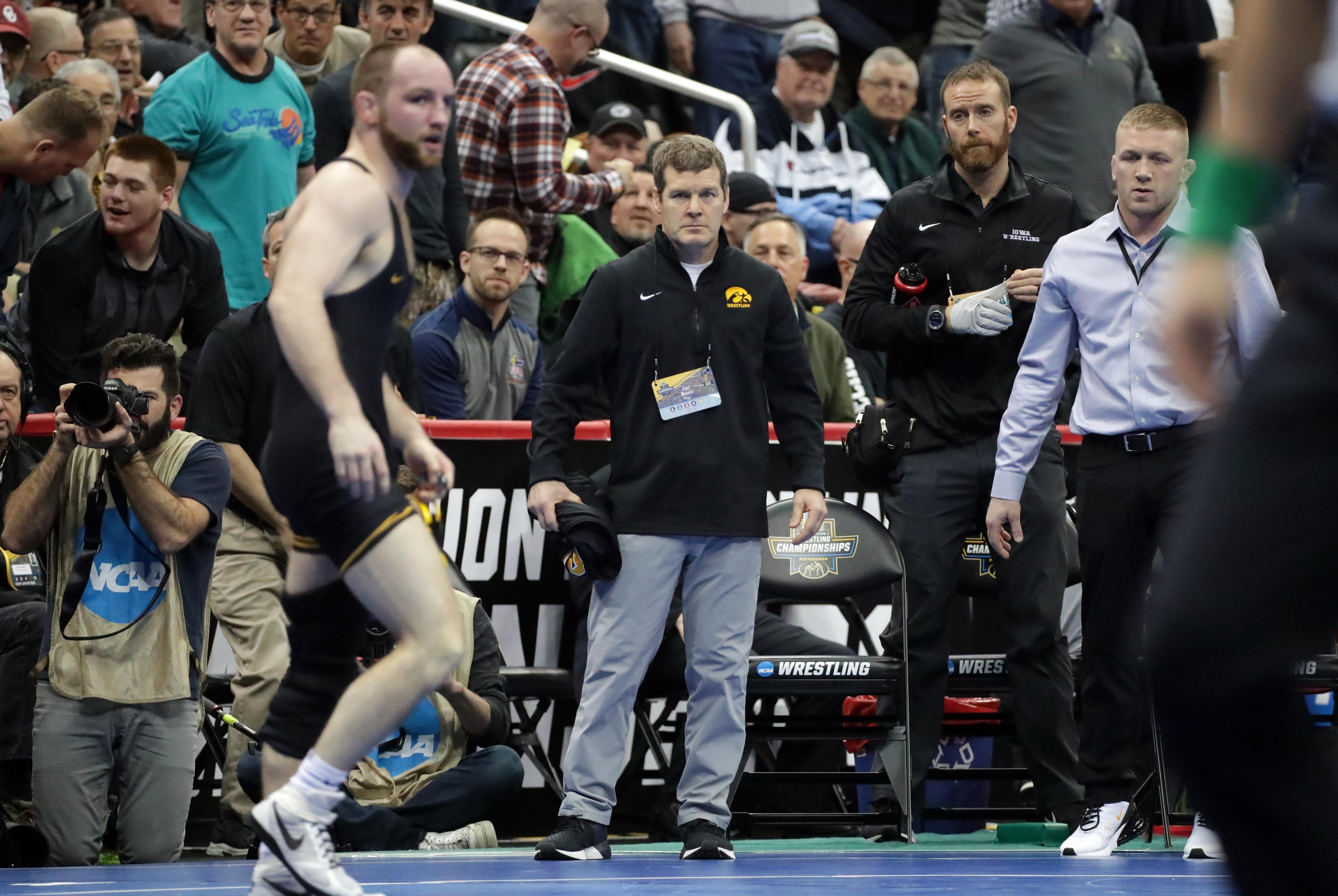 2019 NCAA Div I Wrestling Championships Session Three