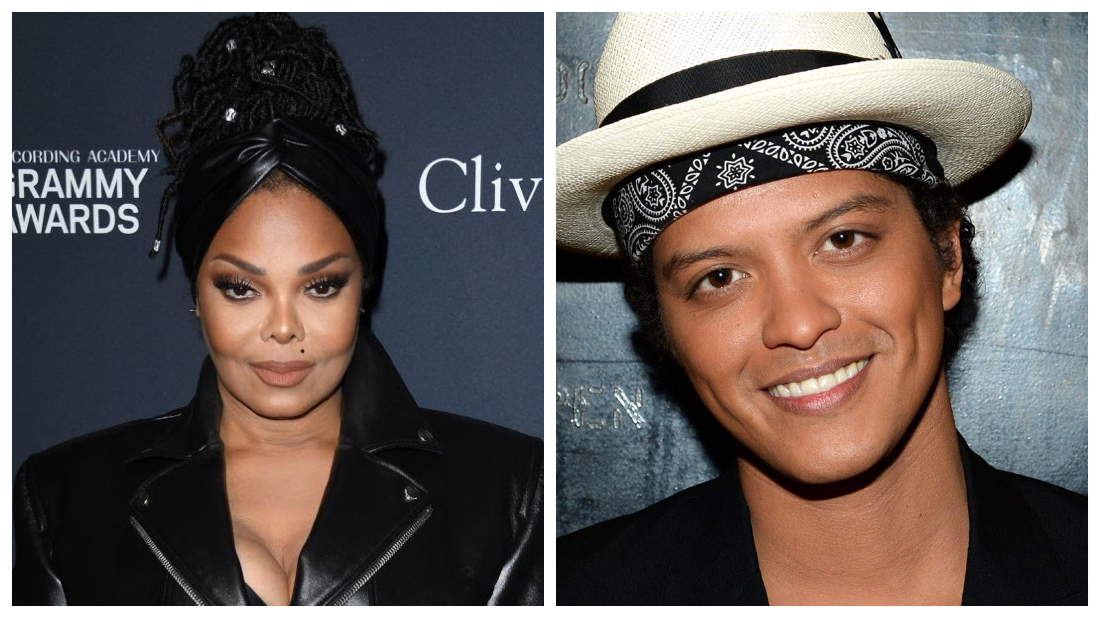 Janet Jackson and Bruno Mars