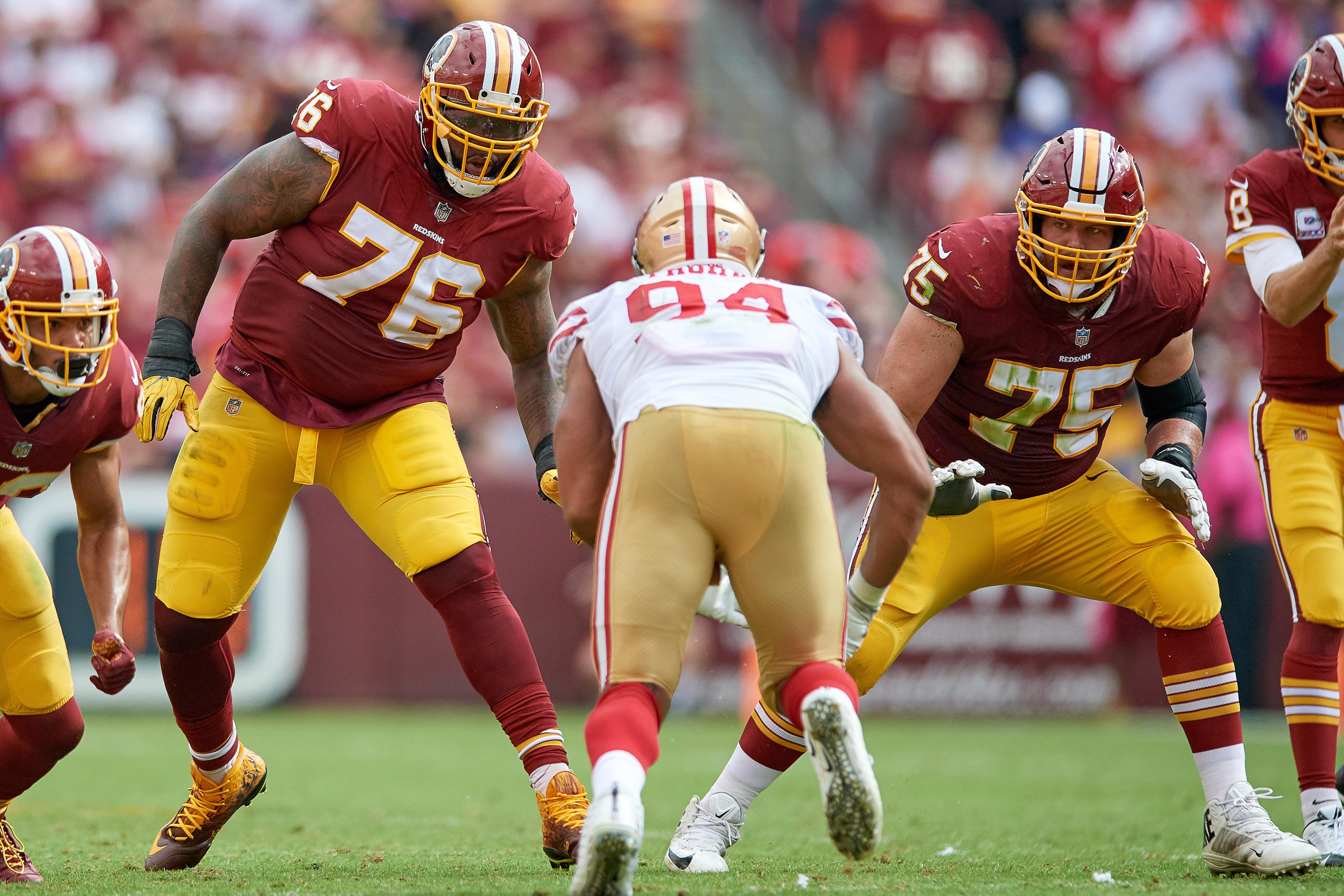 NFL: OCT 15 49ers at Redskins