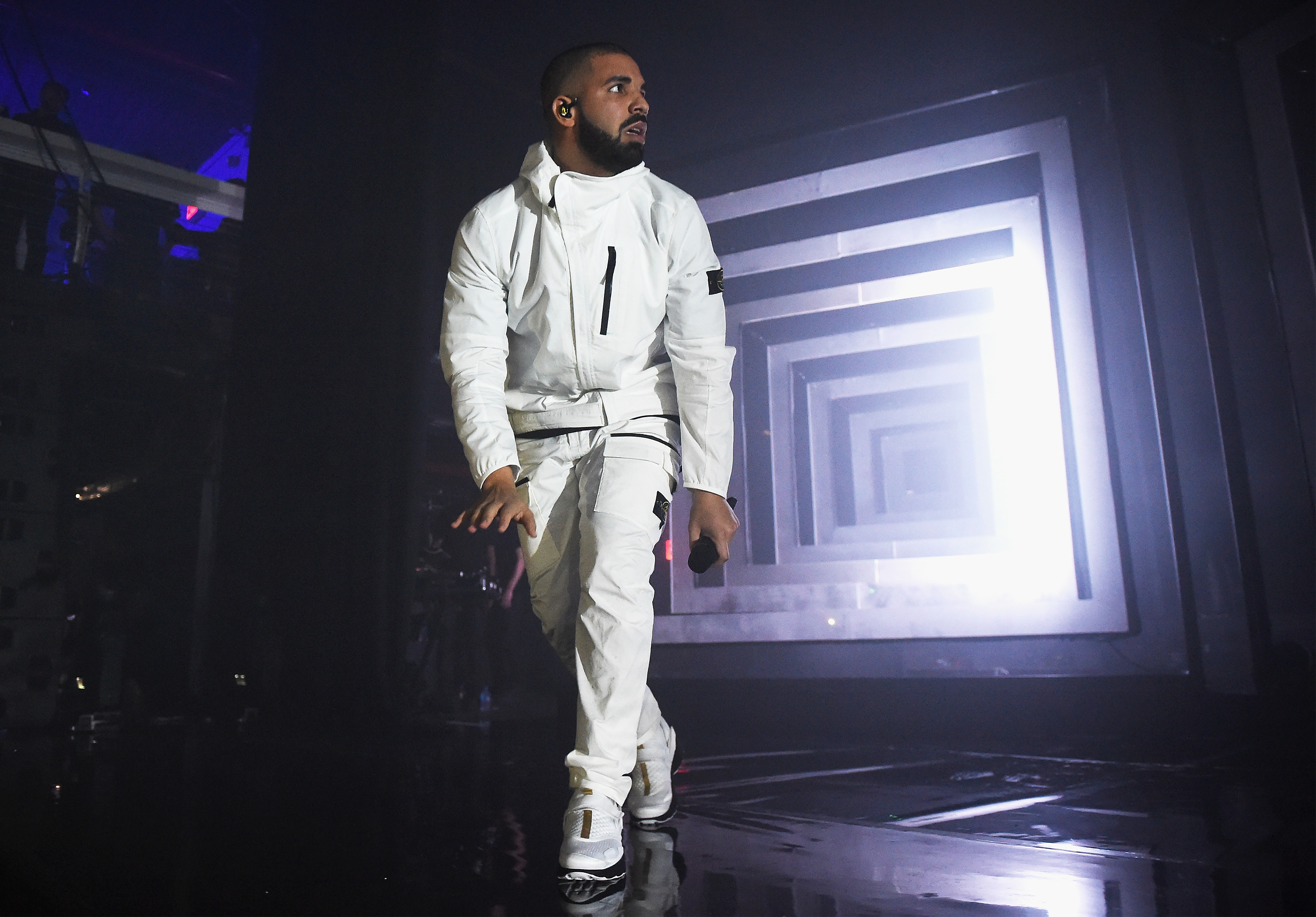 Drake performs onstage during the 2017 Adult Swim Upfront Party on May 17, 2017