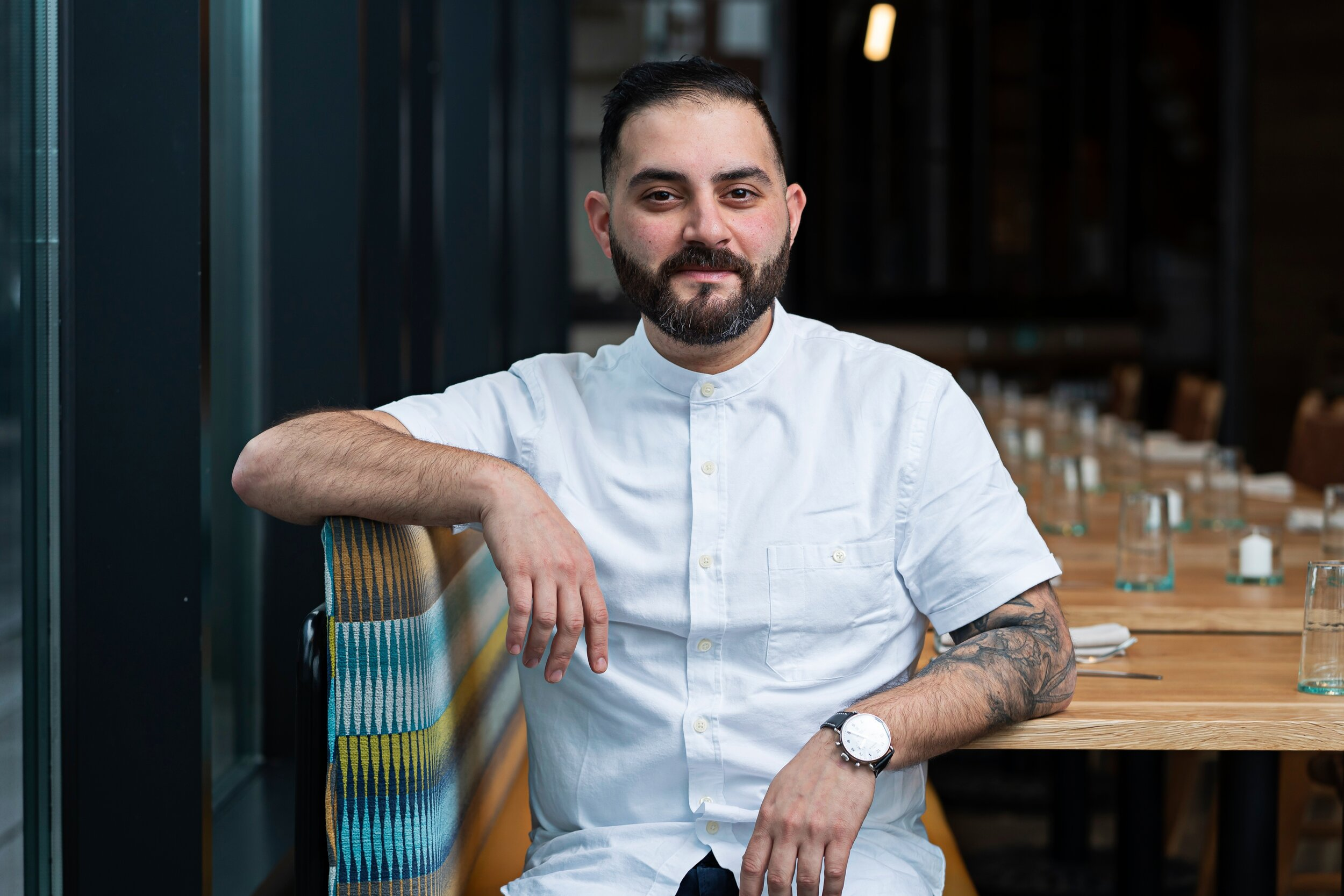Chef Michael Rafidi will run Albi after nearly two years away from a full-time kitchen.
