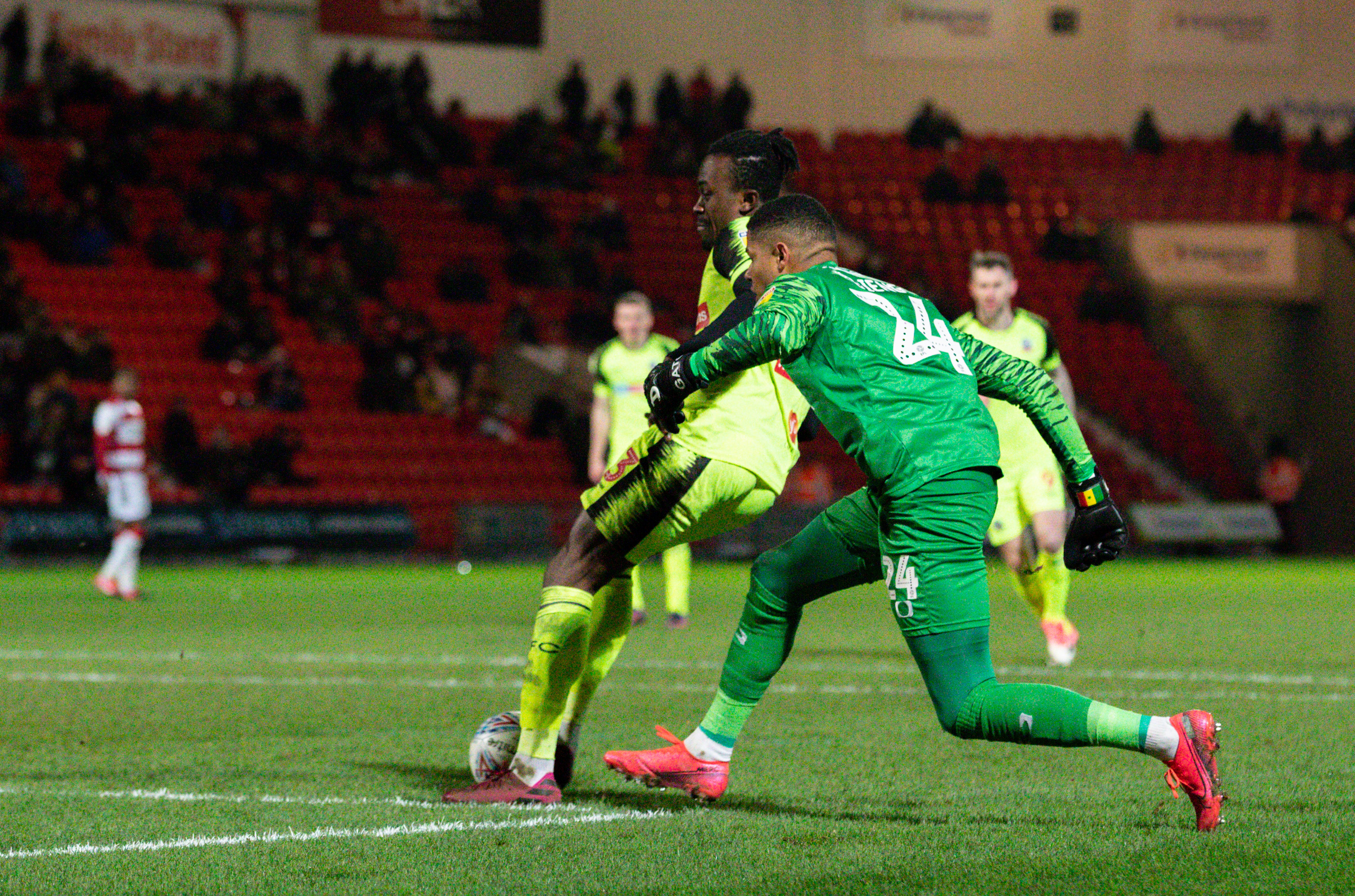 Doncaster Rovers v Bolton Wanderers - Sky Bet League One