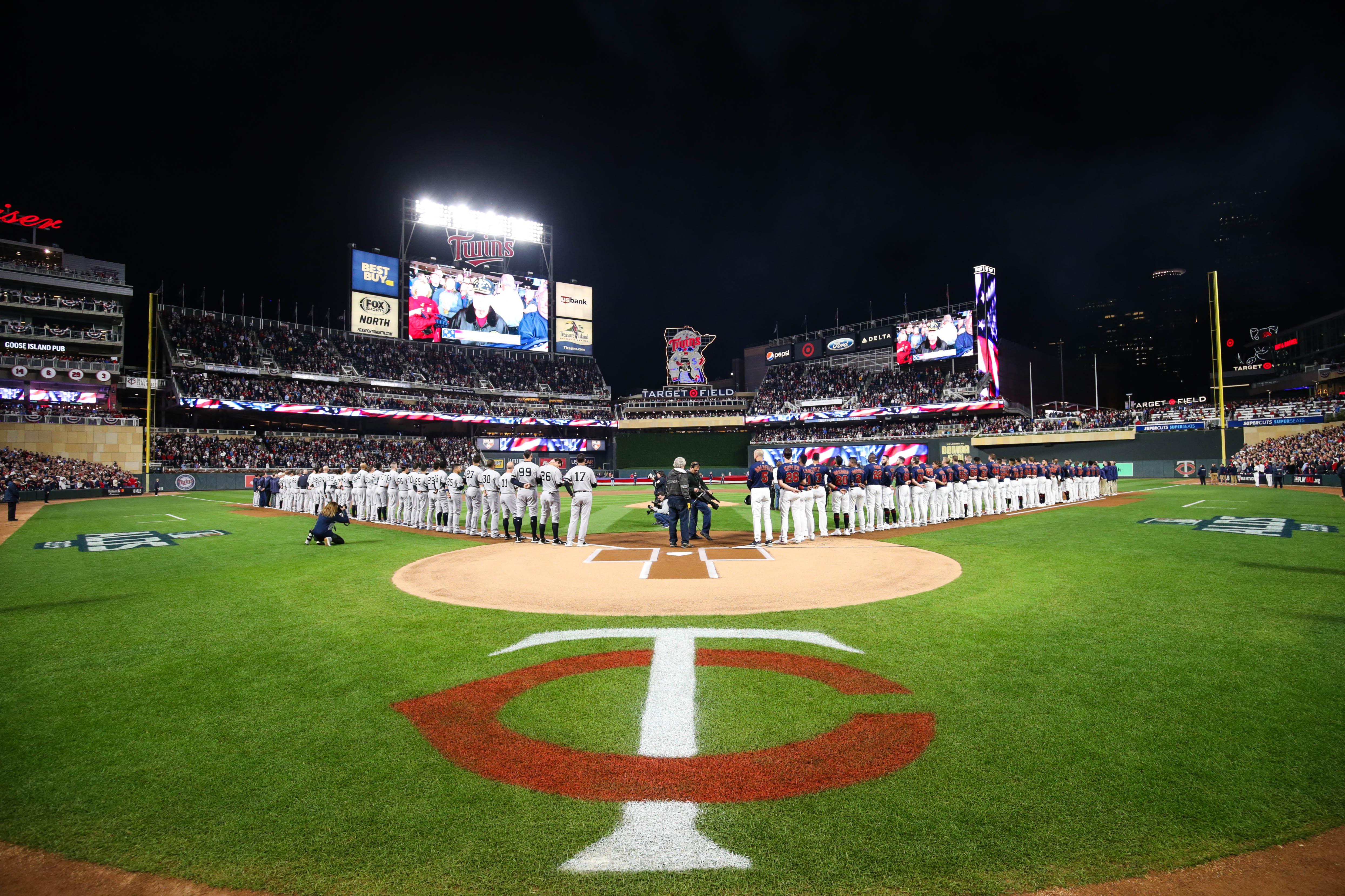 MLB: ALDS-New York Yankees at Minnesota Twins