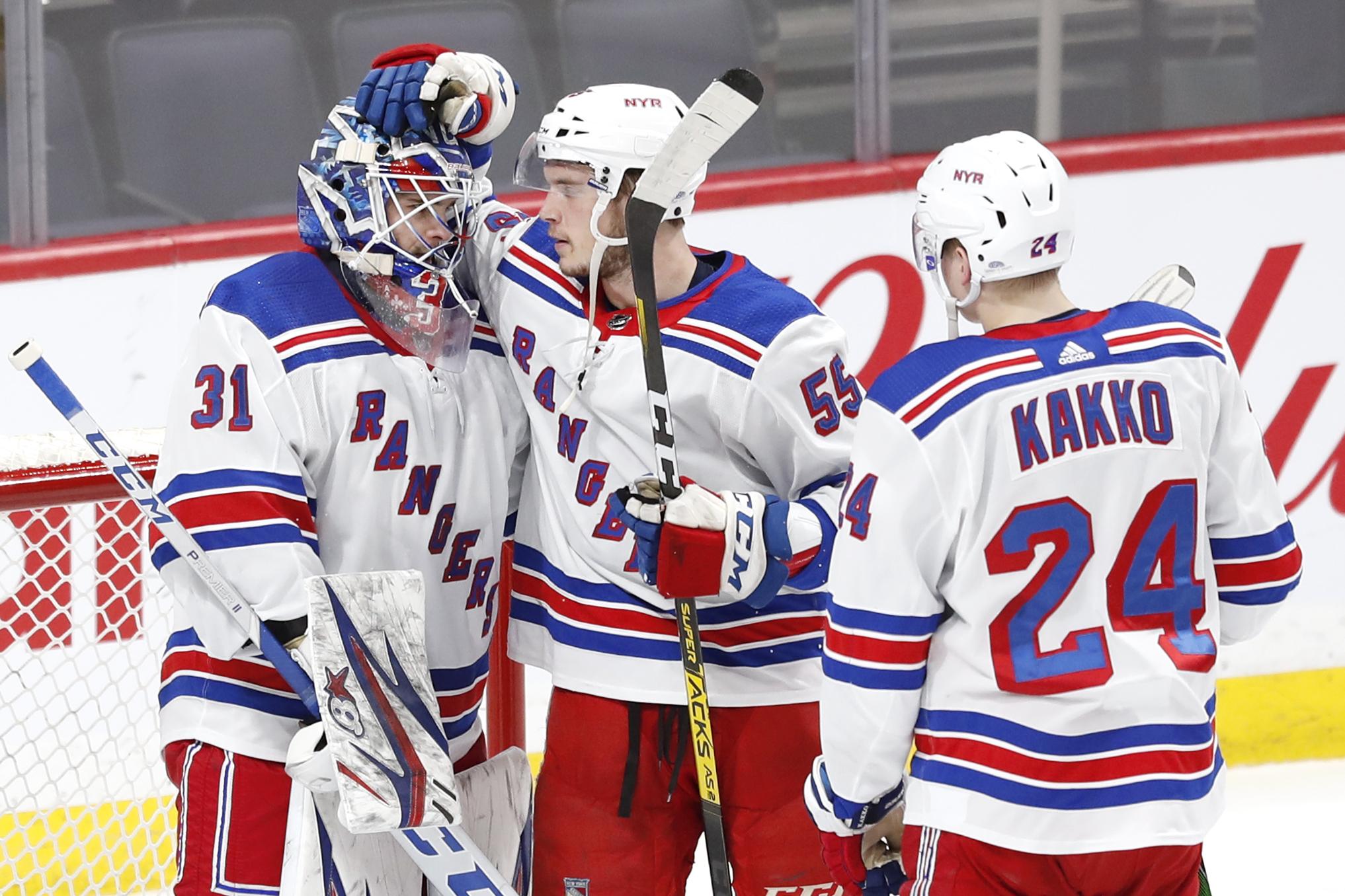 NHL: New York Rangers at Winnipeg Jets