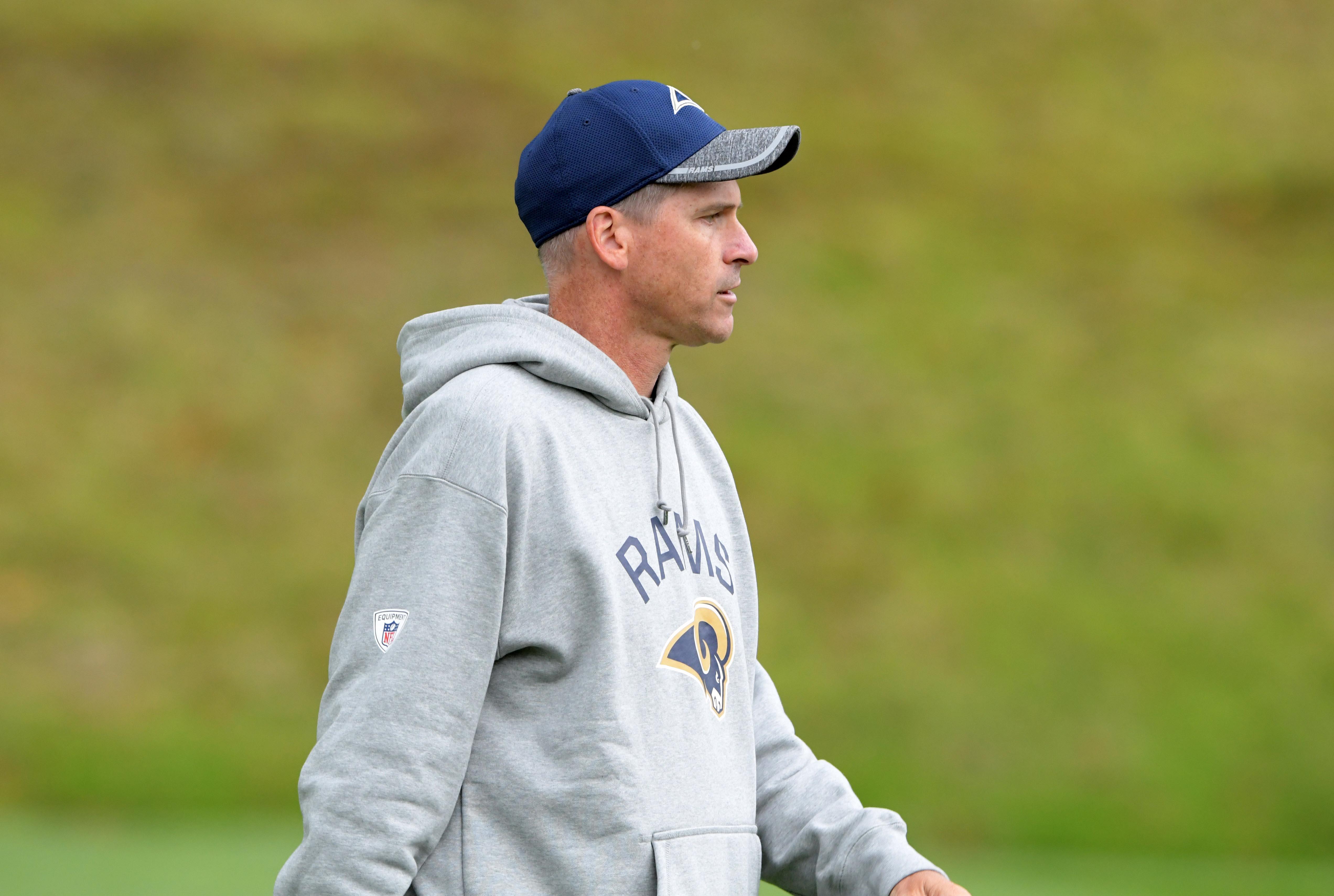 NFL: International Series-Los Angeles Rams Practice