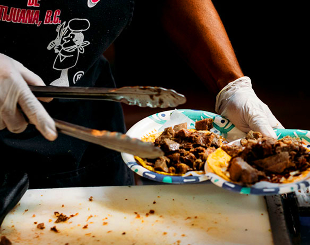 Preparing dishes at Tijuana-inspired Tacos El Gordo, a local hit for a decade and now expanding to the southwest.