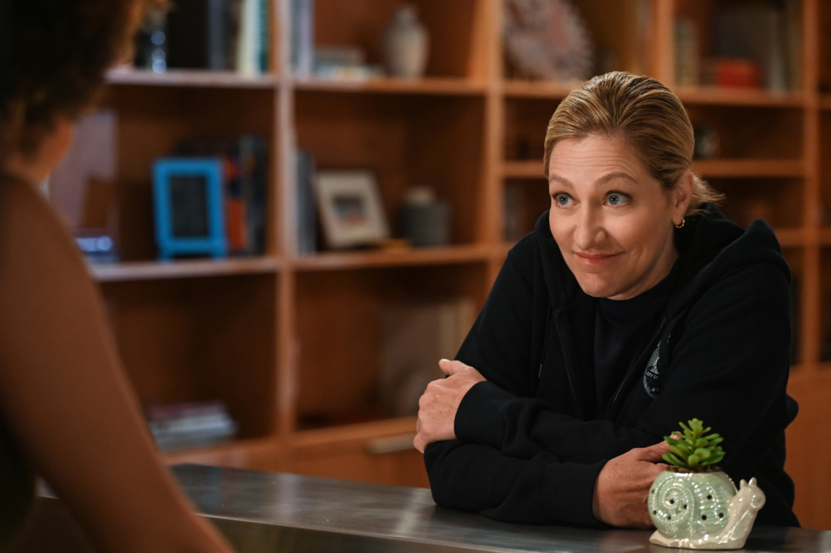 "Edie Falco plays the first woman police chief of Los Angeles on ""Tommy."""