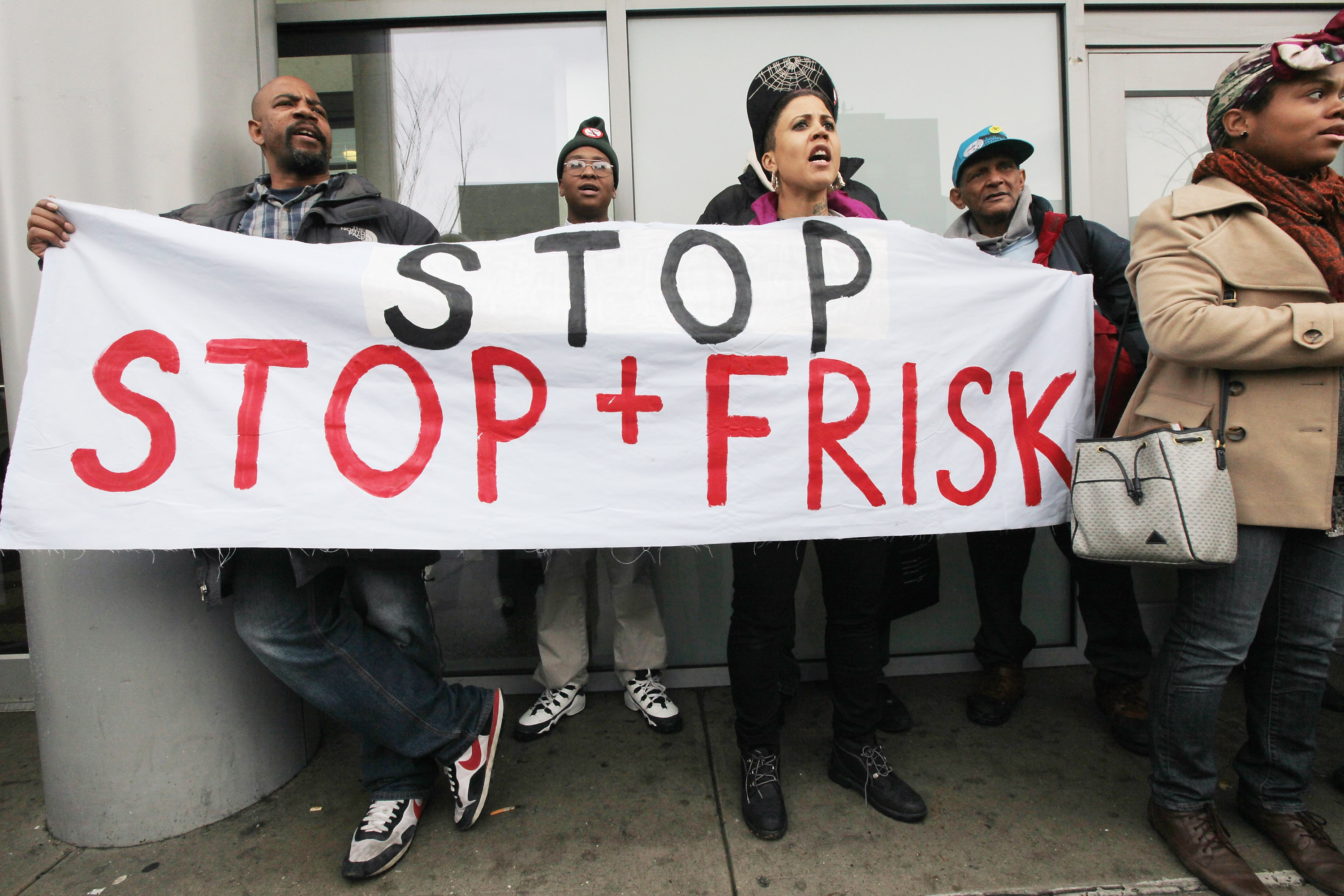 stop and frisk rally