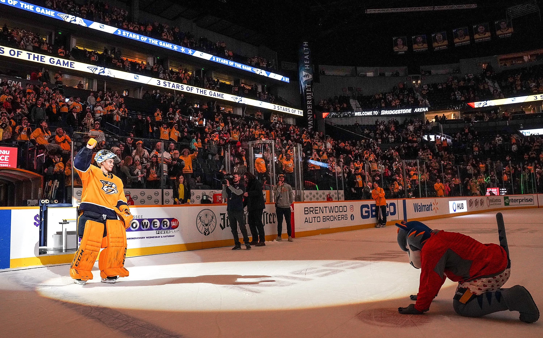 New York Islanders v Nashville Predators