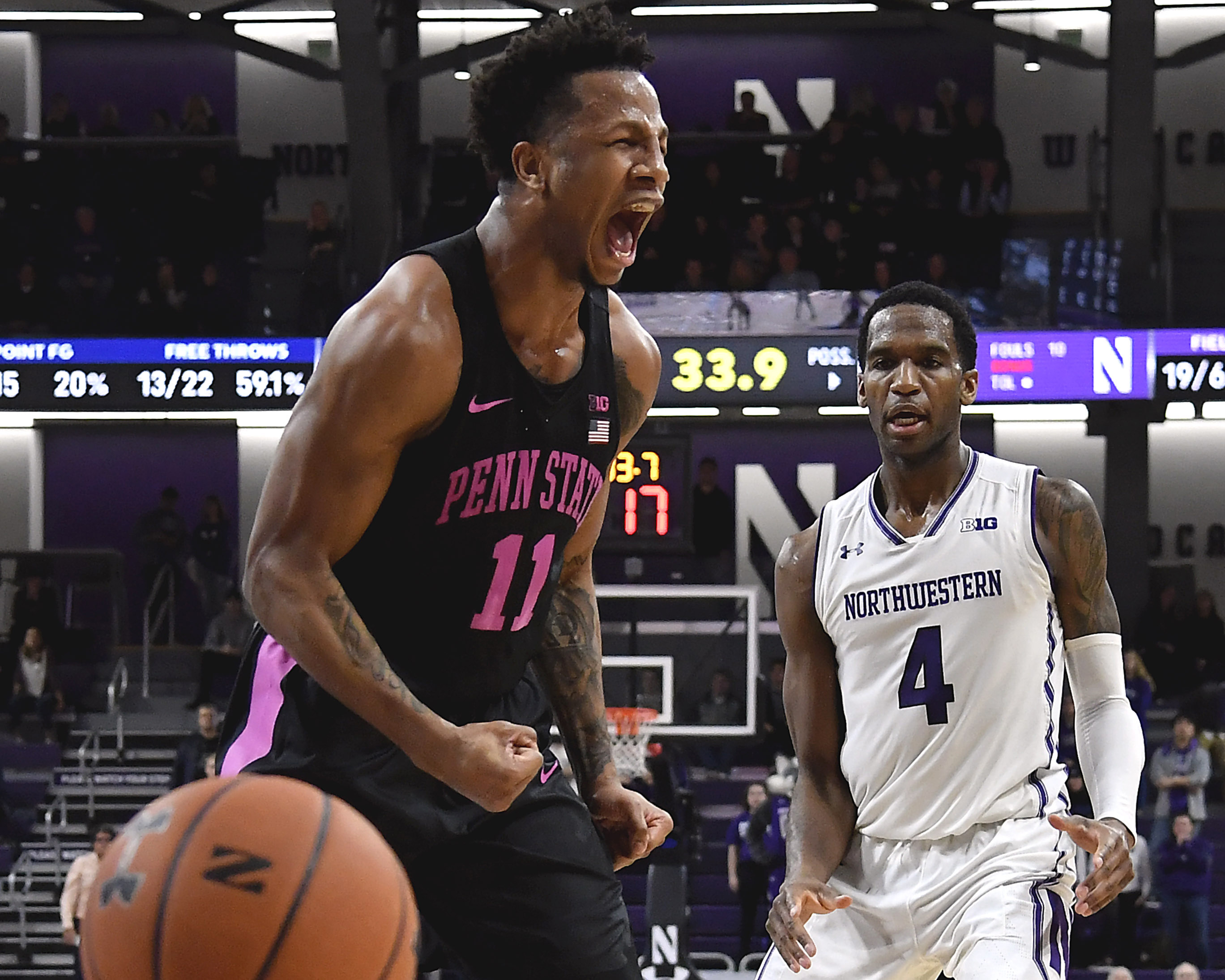 NCAA Basketball: Penn State at Northwestern