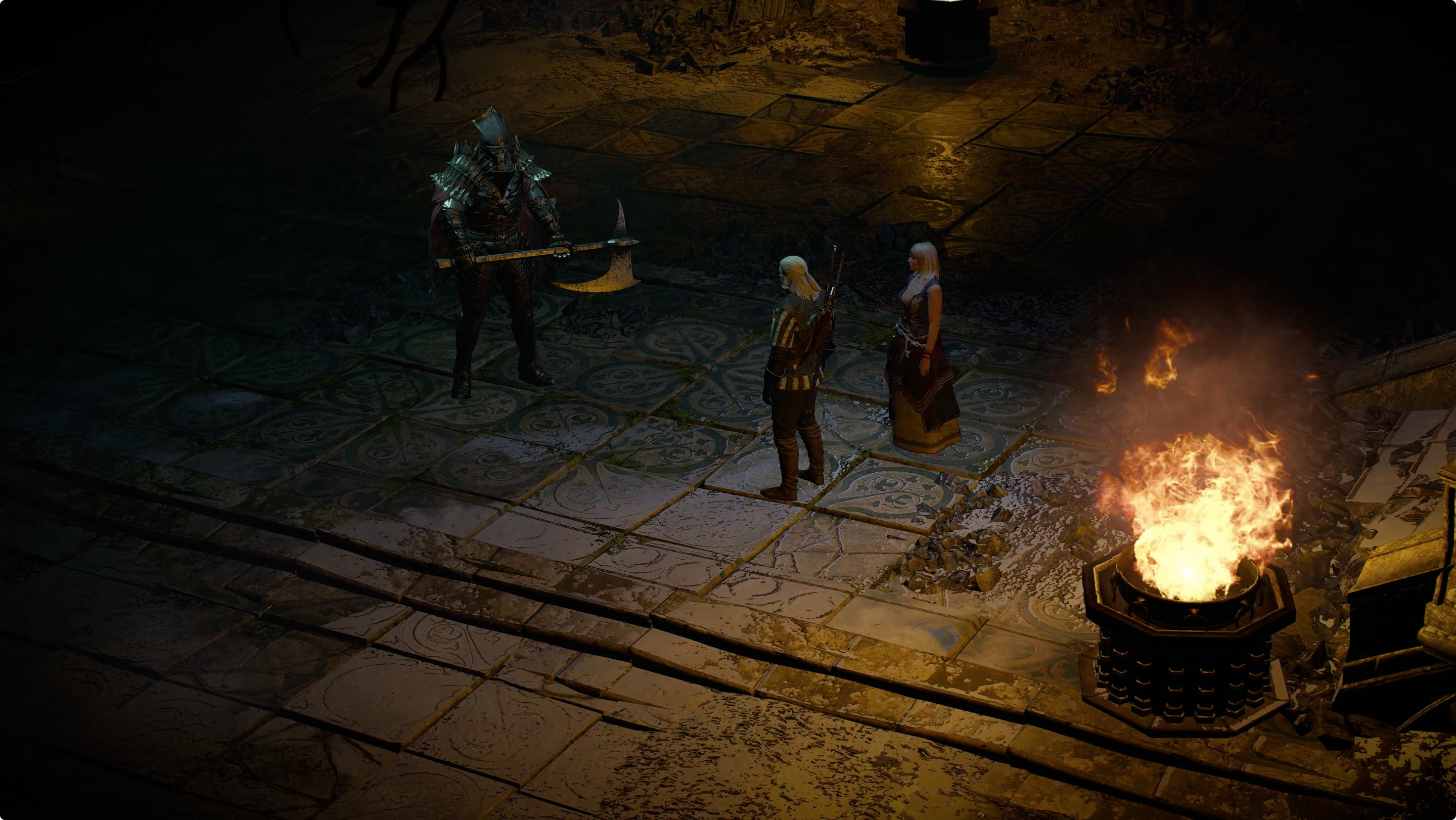 Witcher 3 Wandering in the Dark walkthough and guide