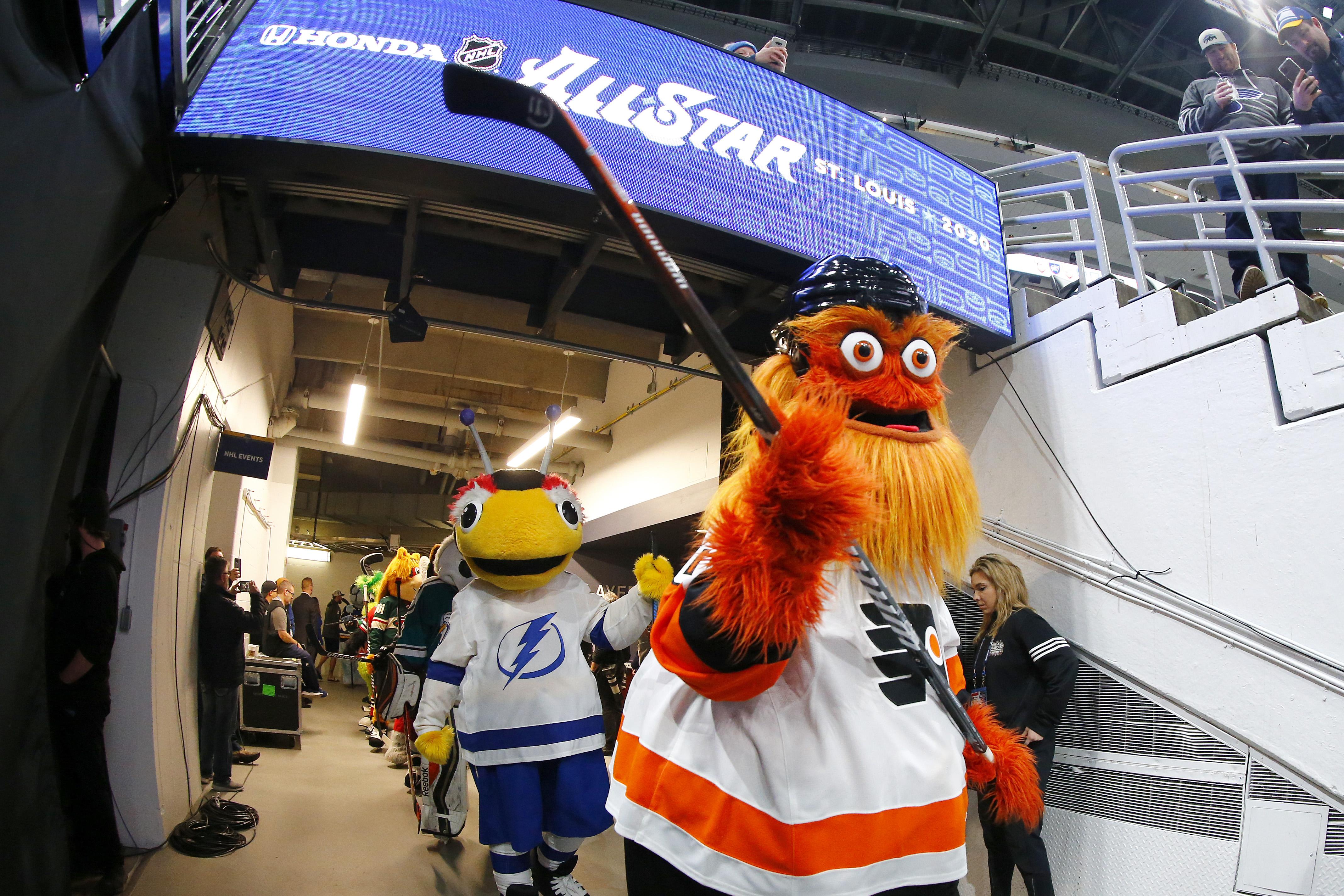 2020 Honda NHL All-Star Game - Mascot Game