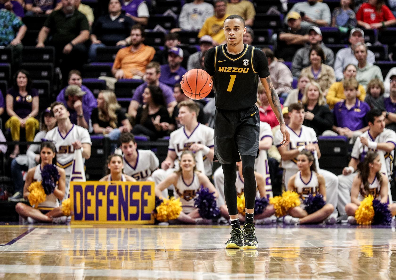 NCAA Basketball: Missouri at Louisiana State