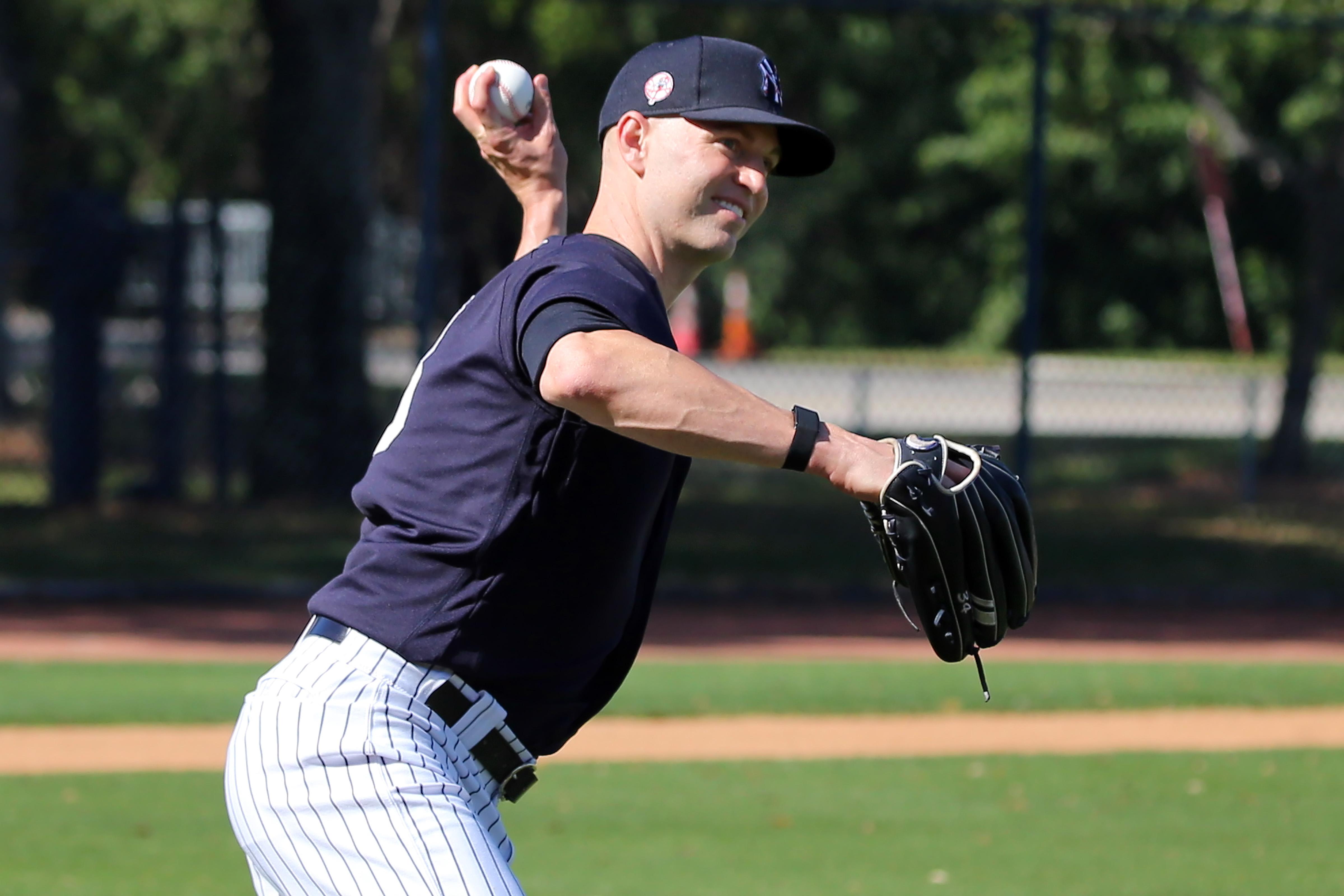 MLB: FEB 15 Spring Training - Yankees Workout
