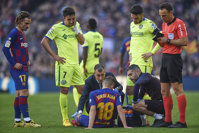 ESP: FC Barcelona v Getafe CF - La Liga