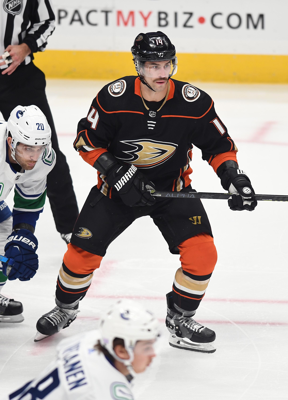 NHL: NOV 01 Canucks at Ducks