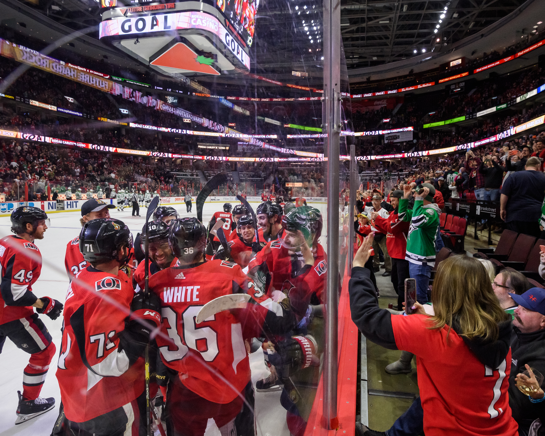 NHL: FEB 16 Stars at Senators