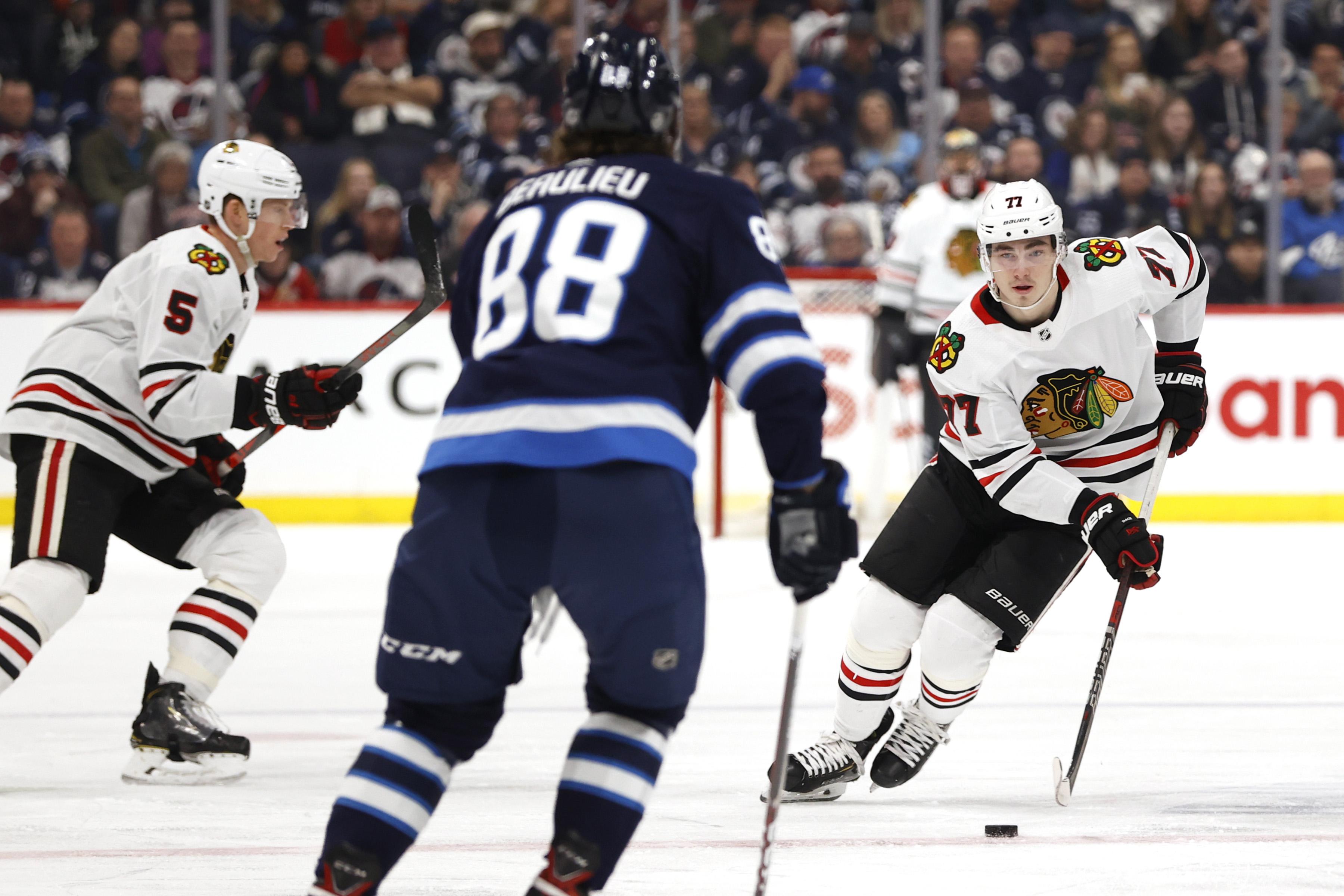 NHL: Chicago Blackhawks at Winnipeg Jets