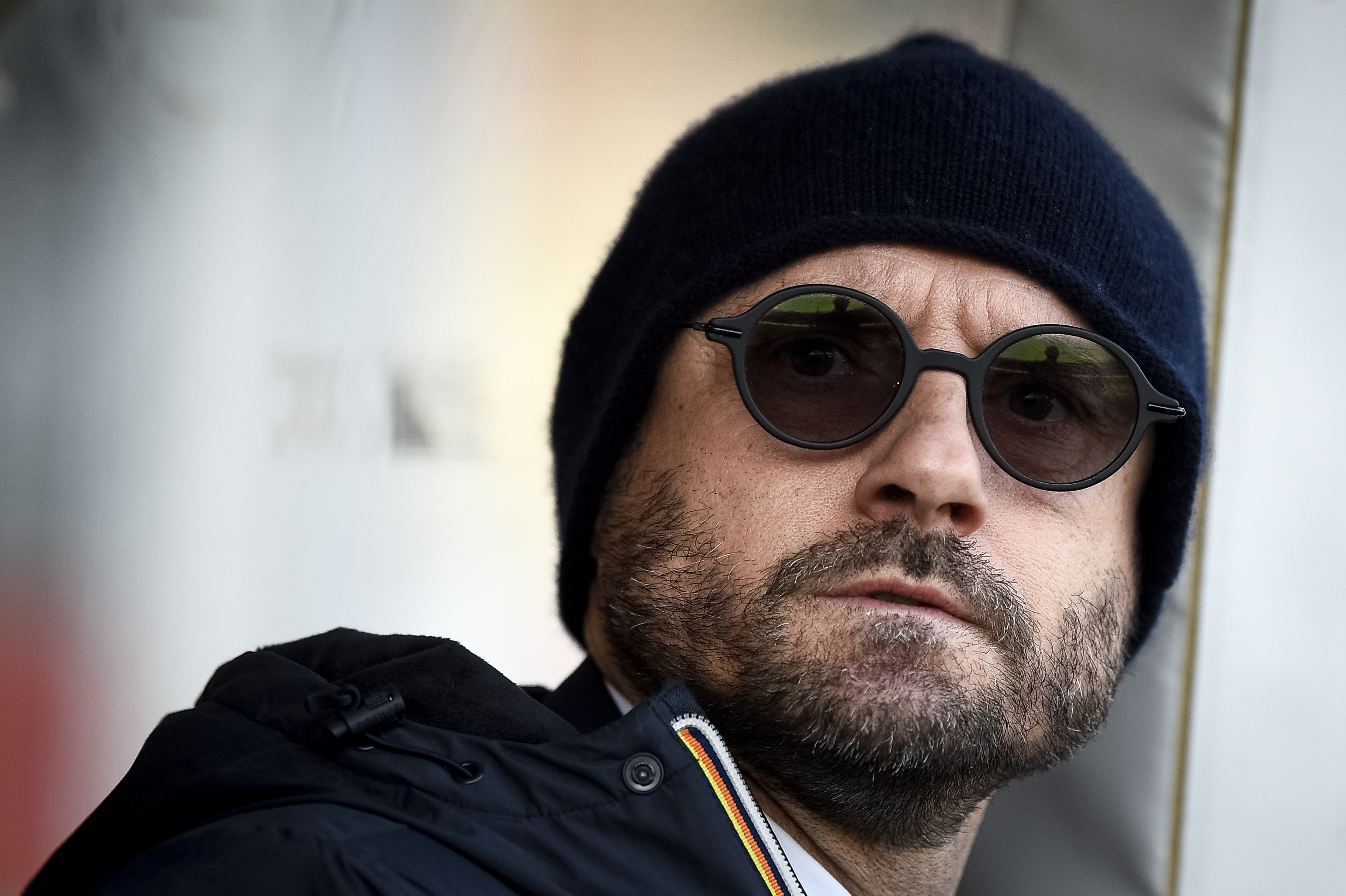 Gianluca Petrachi, director of football of Torino FC, looks...