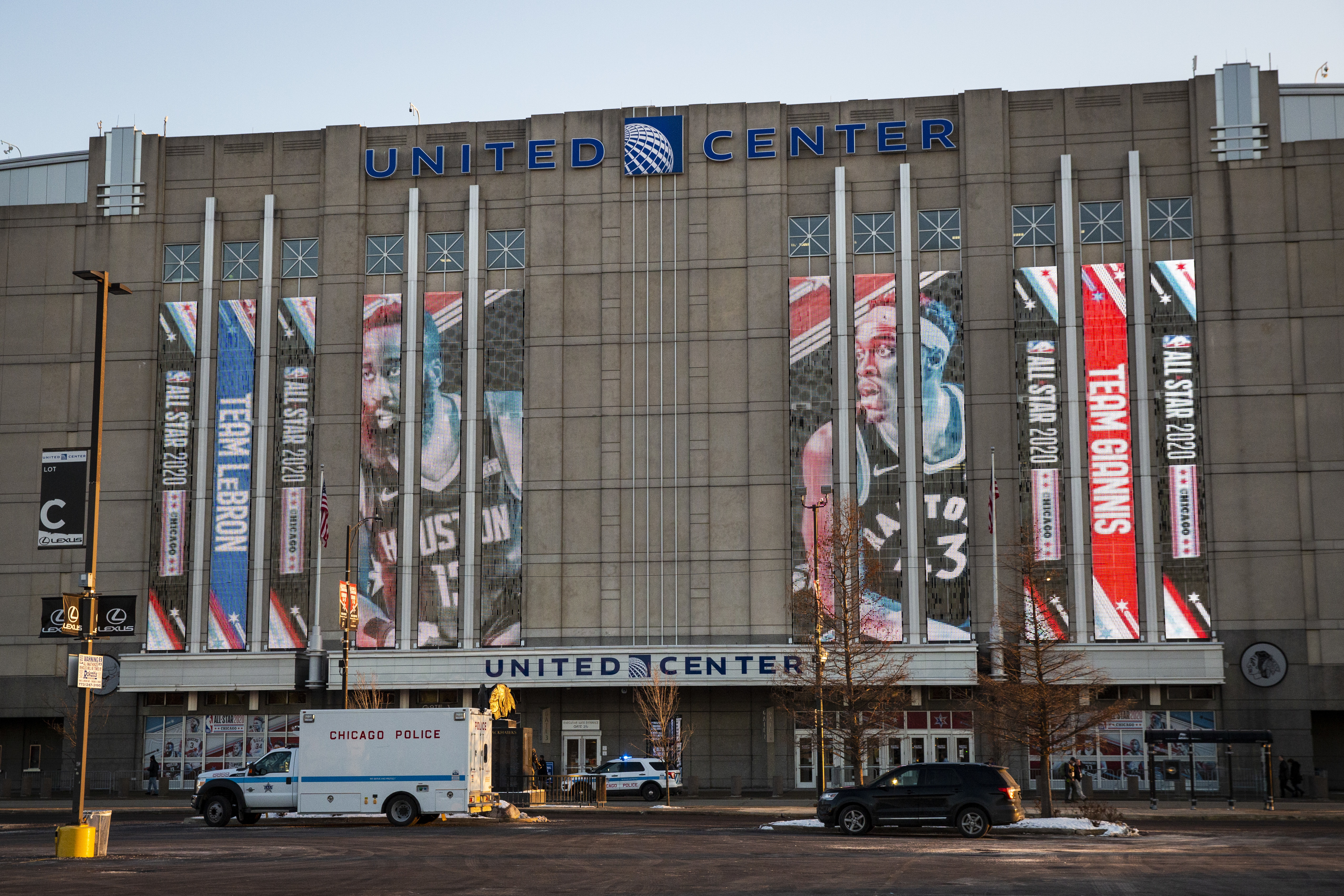 Guns were seized at the United Center before the All Star Game