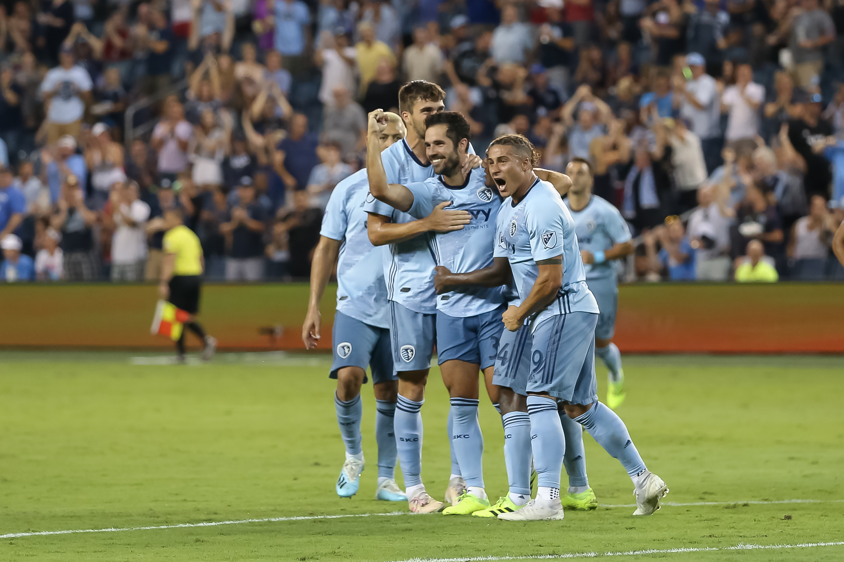 SOCCER: AUG 17 MLS - San Jose Earthquakes at Sporting Kansas City
