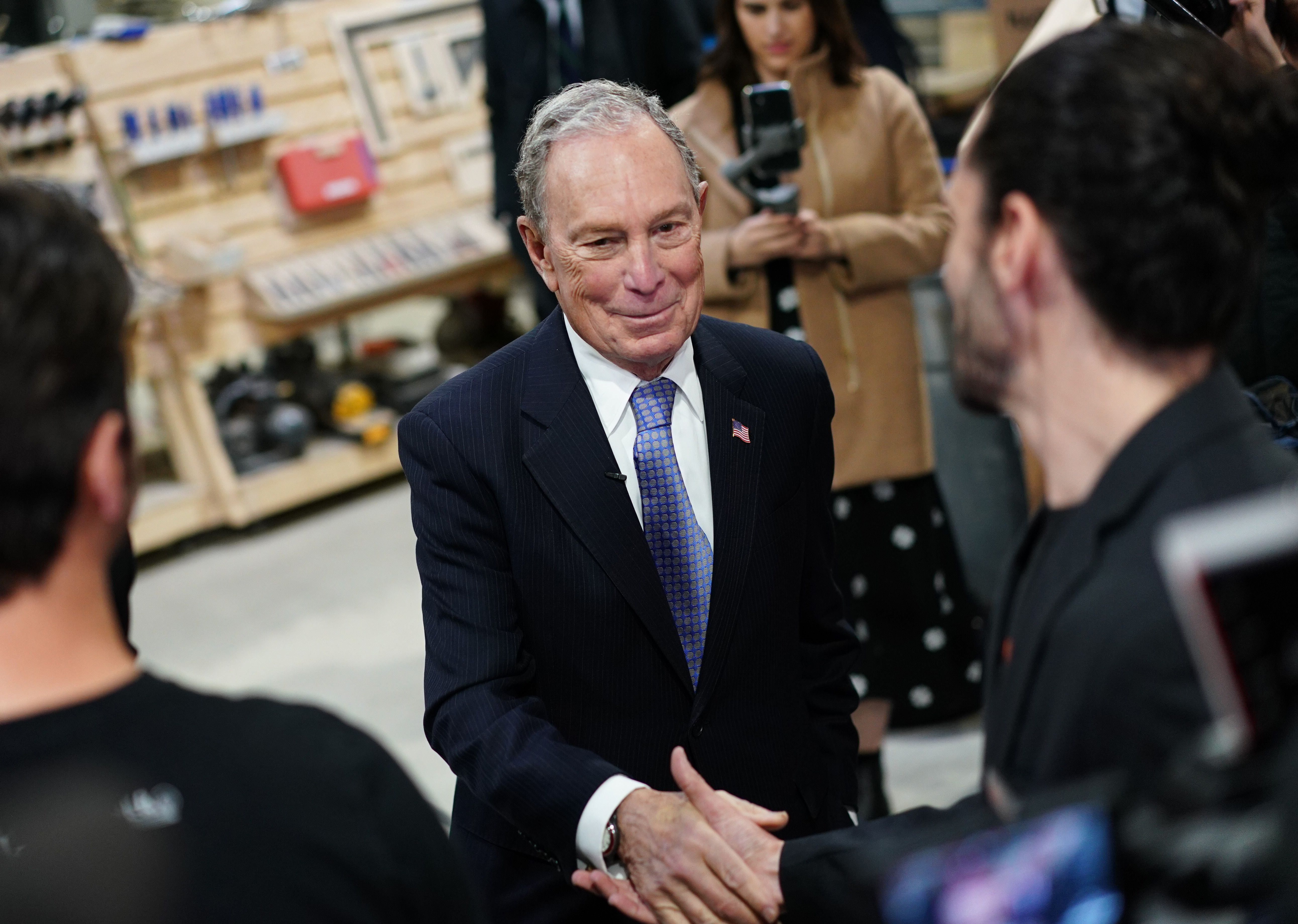Poll: Mike Bloomberg is now in second place in the Democratic primary
