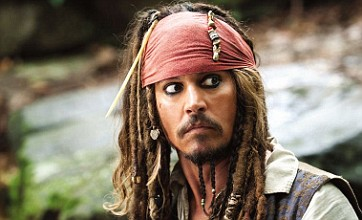 """Johnny Depp plays the very cartoony Captain Jack Sparrow in the """"Pirates of the Caribbean"""" films."""