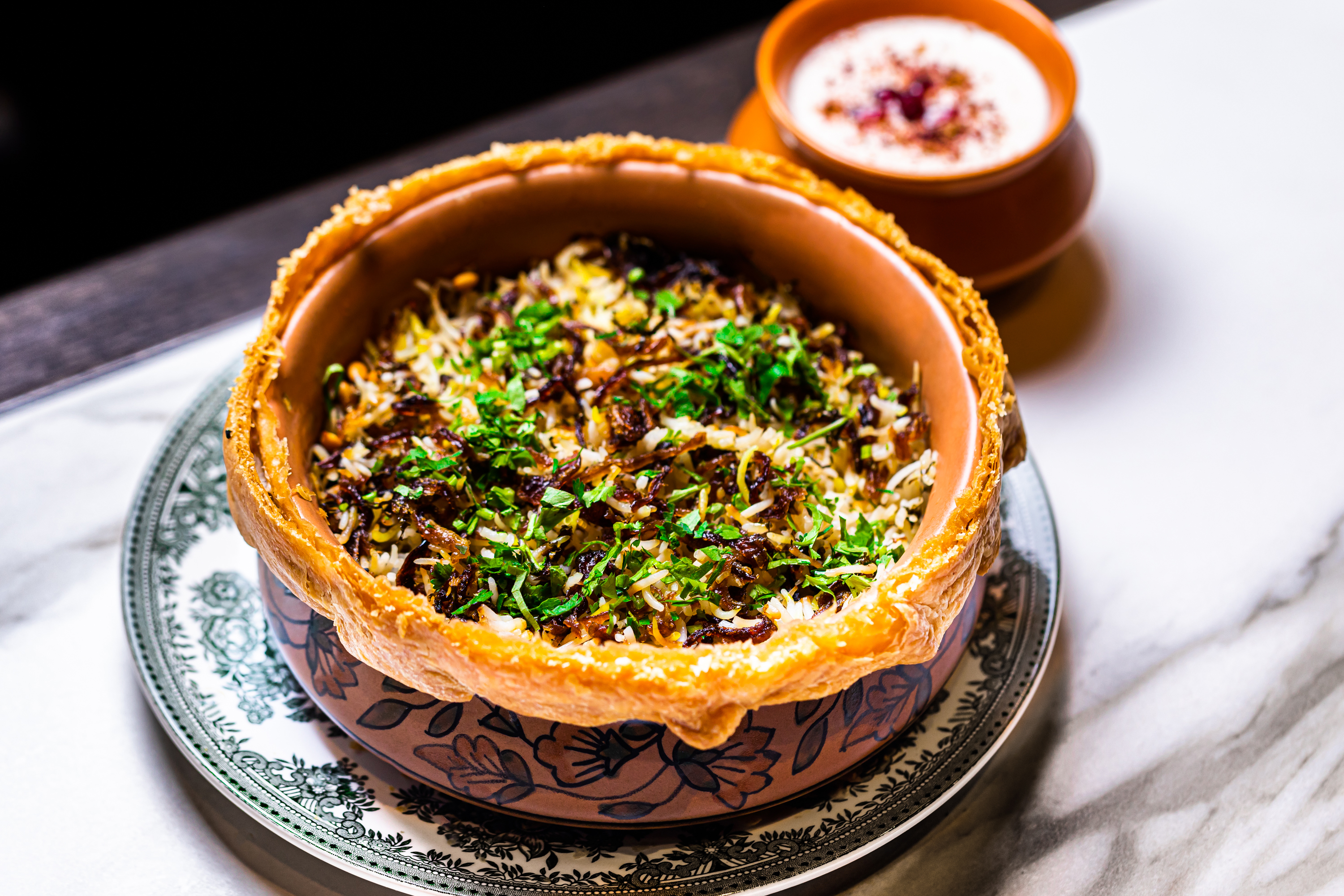 Muntjac biryani at Michelin-starred Gymkhana