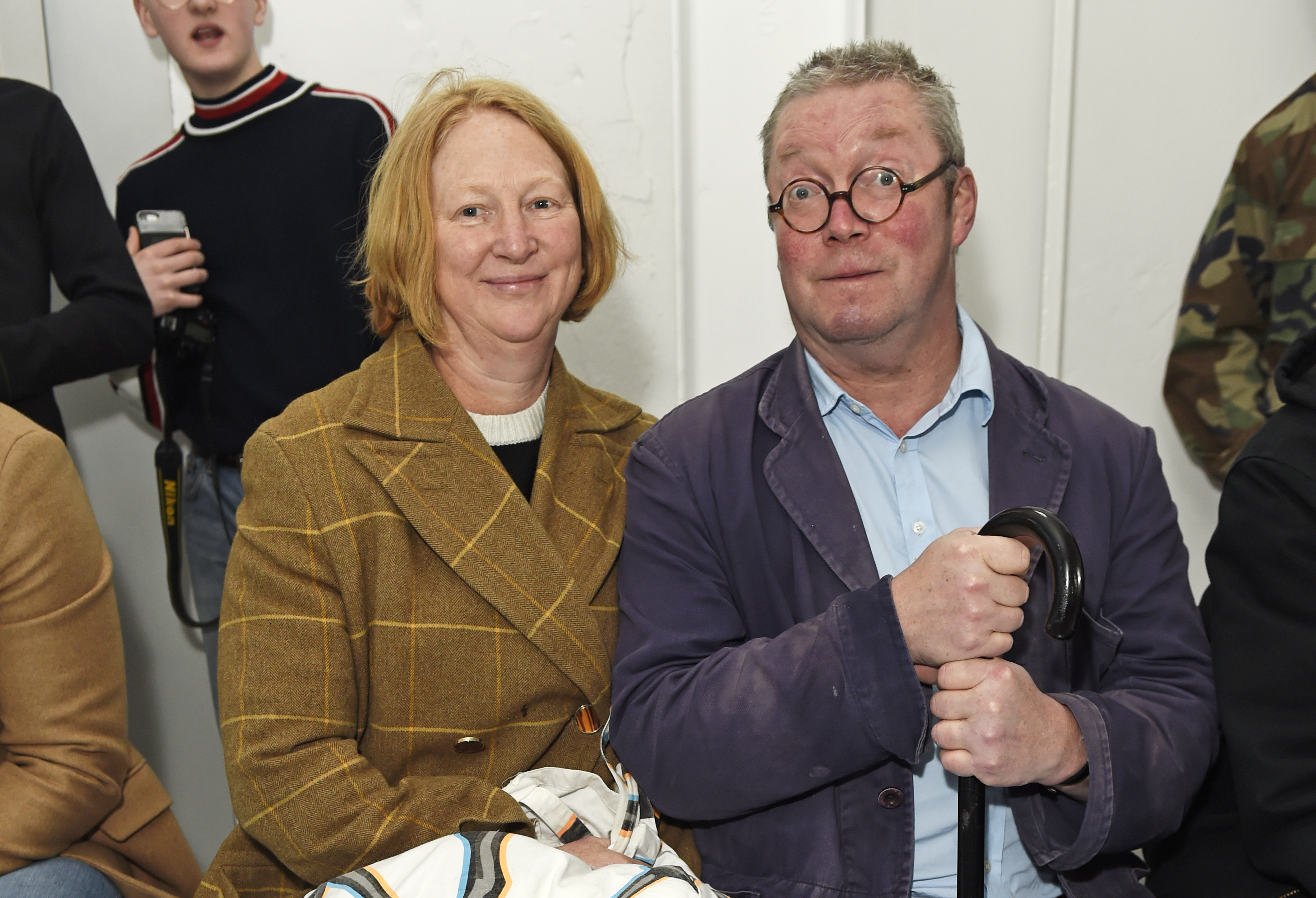 Margot Henderson, left, and Fergus Henderson, right