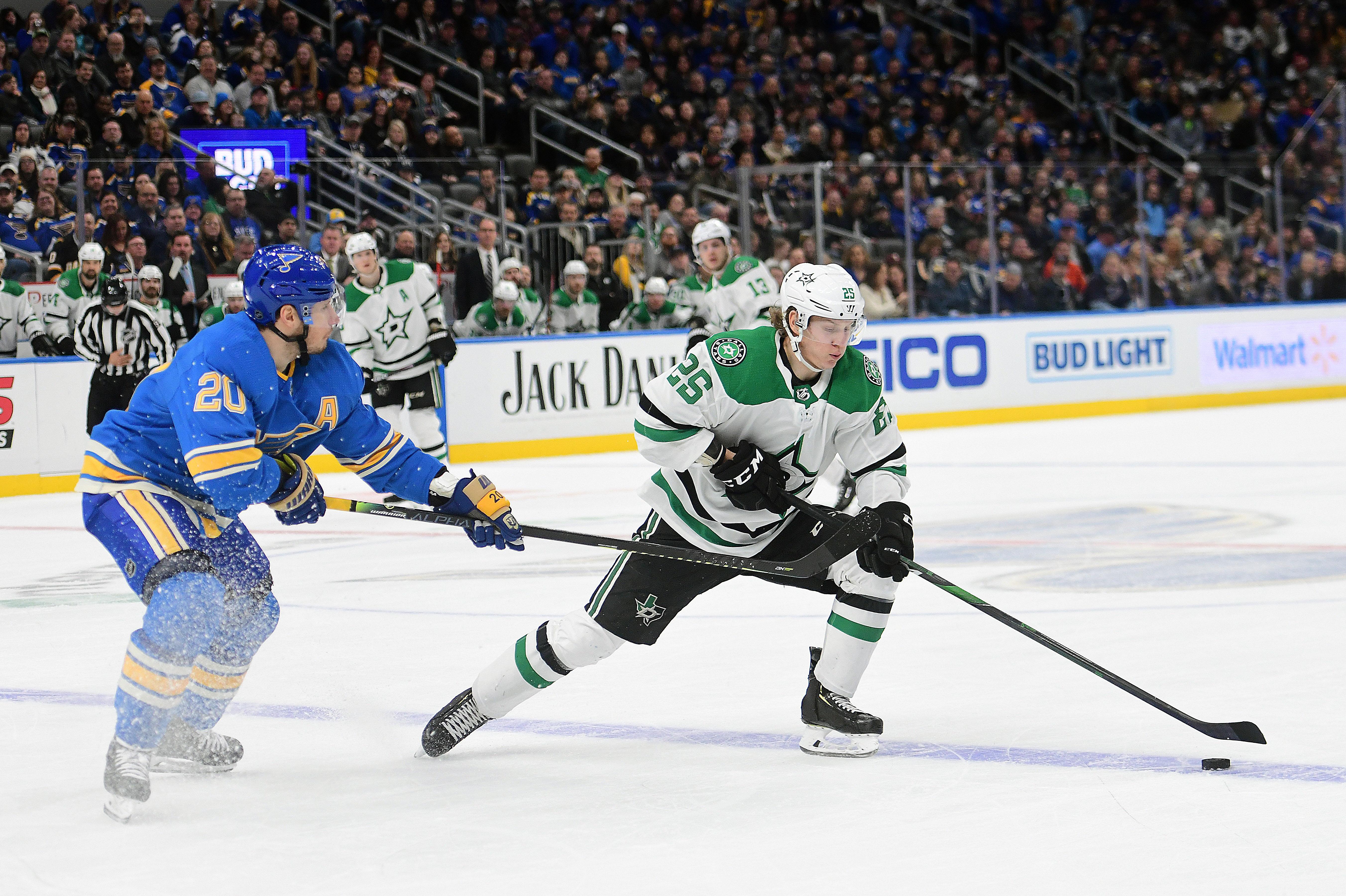 NHL: FEB 08 Stars at Blues