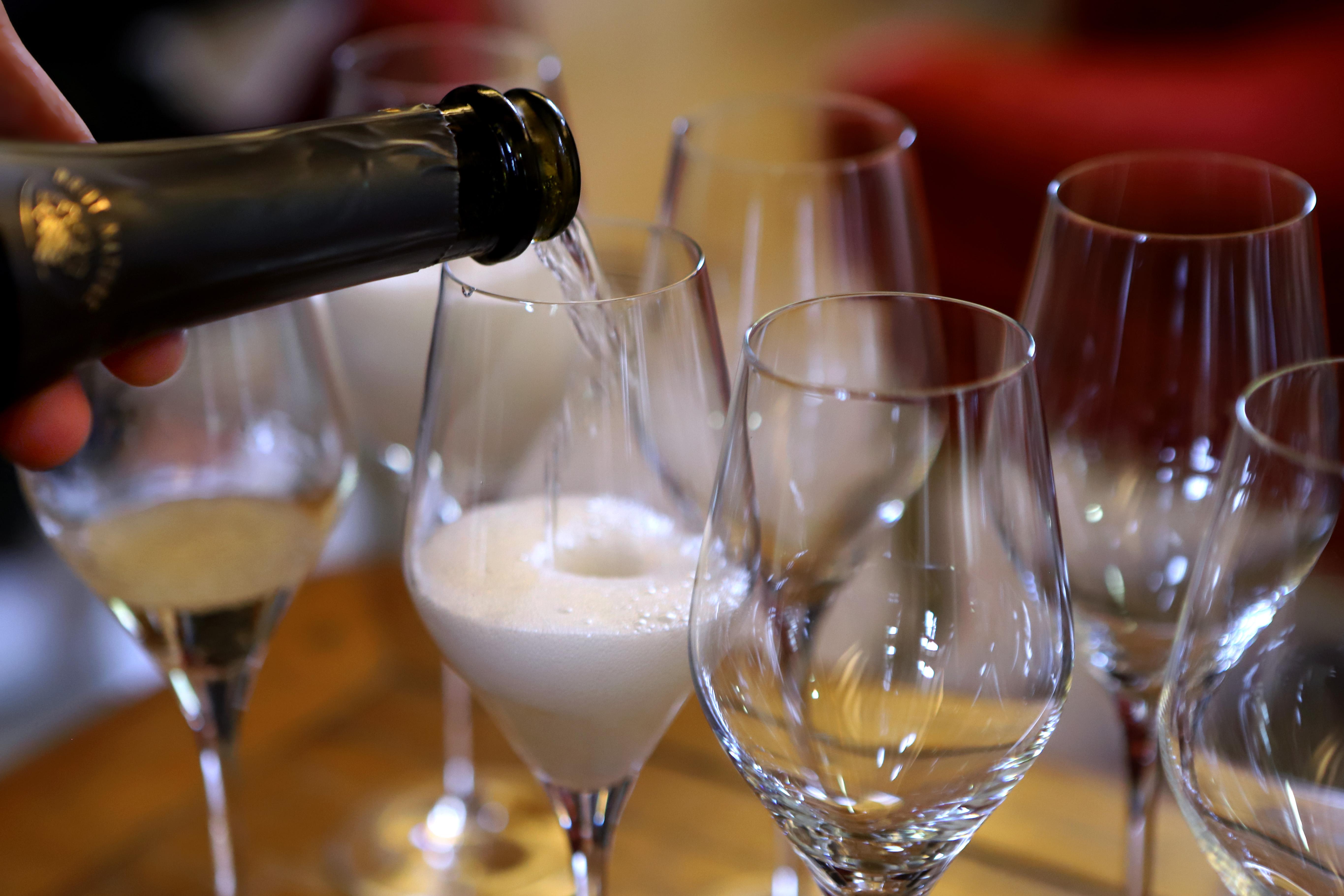 葡萄酒葡萄酒香槟