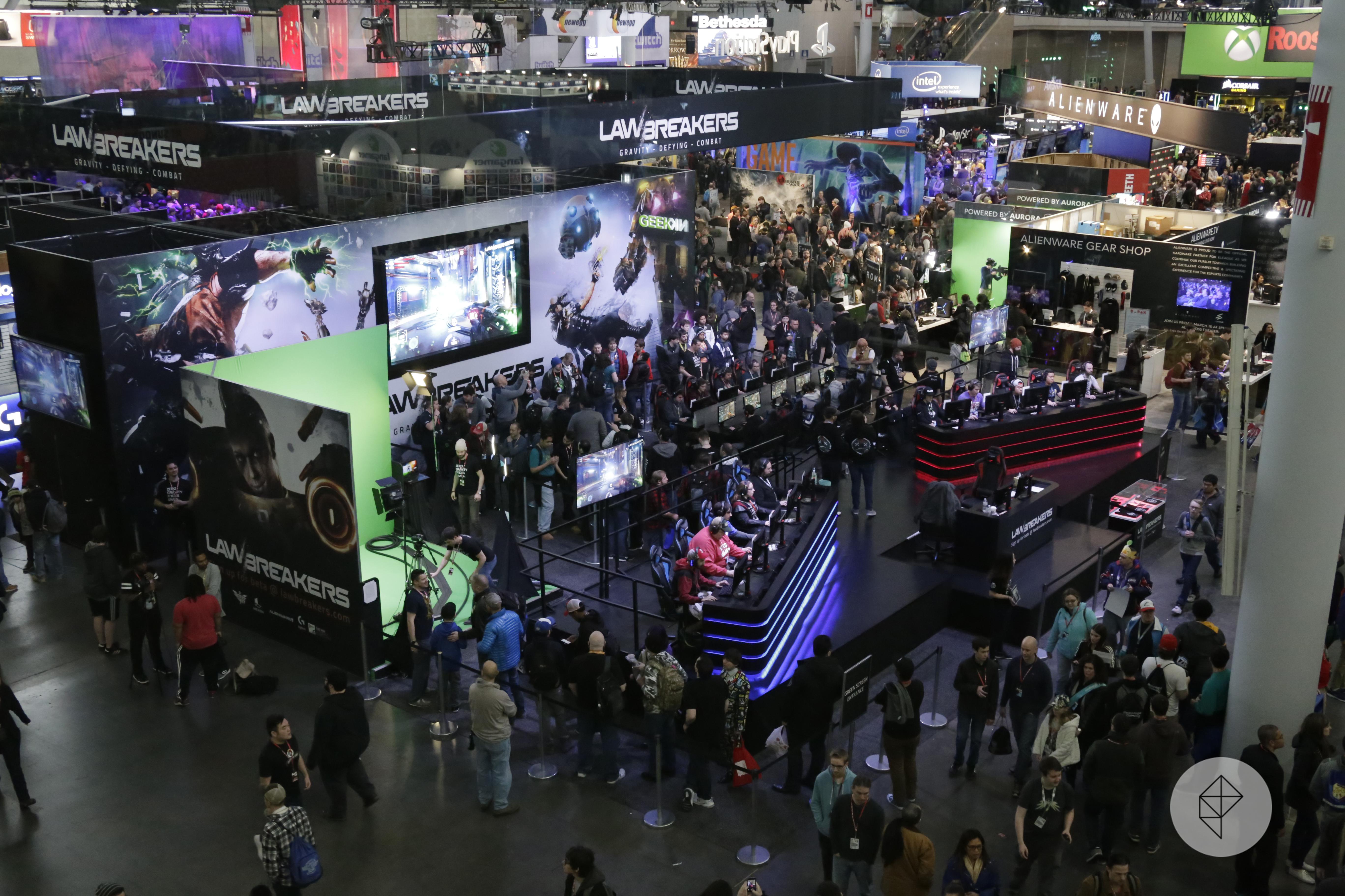 PAX East 2017 show floor photo