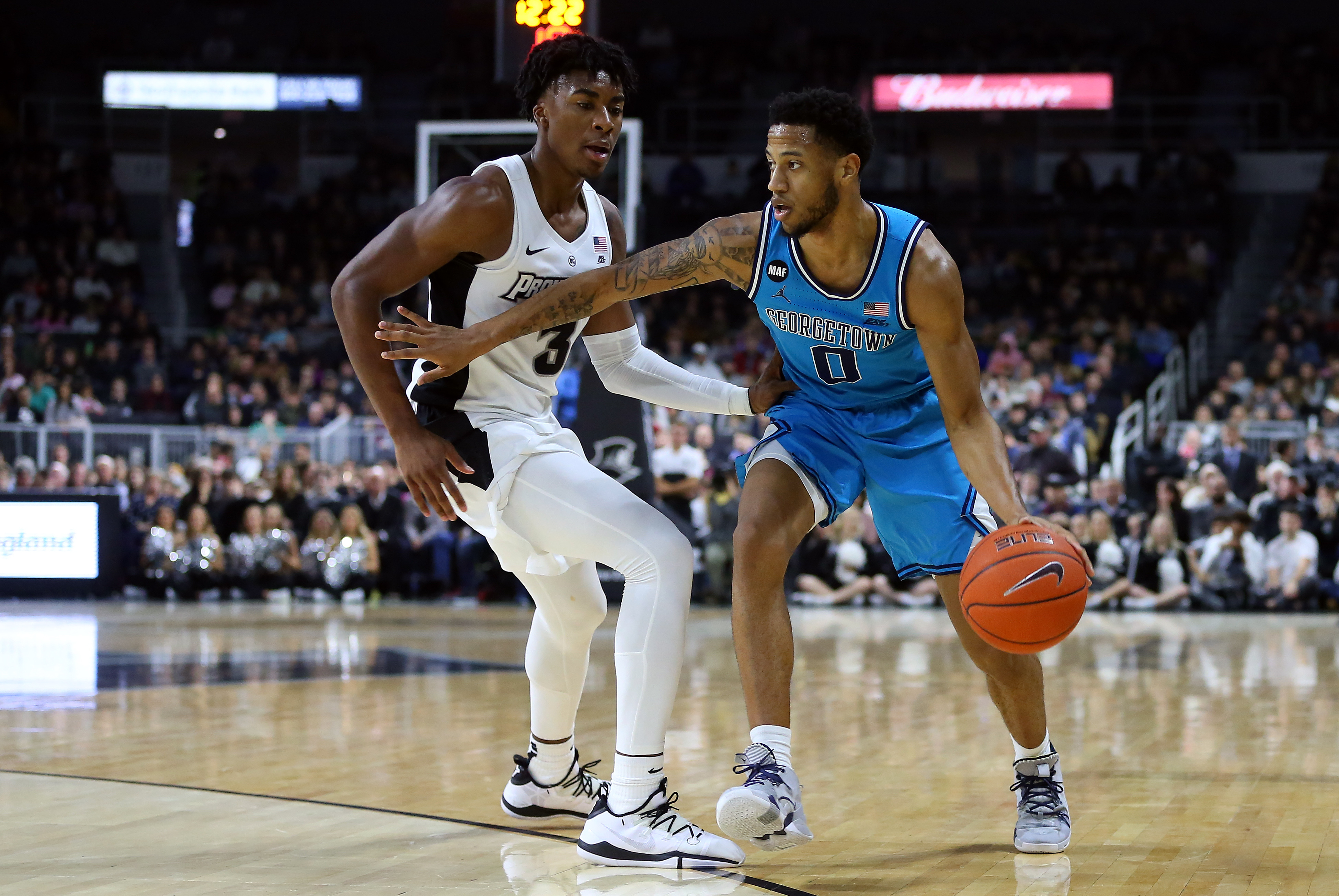 COLLEGE BASKETBALL: DEC 31 Georgetown at Providence