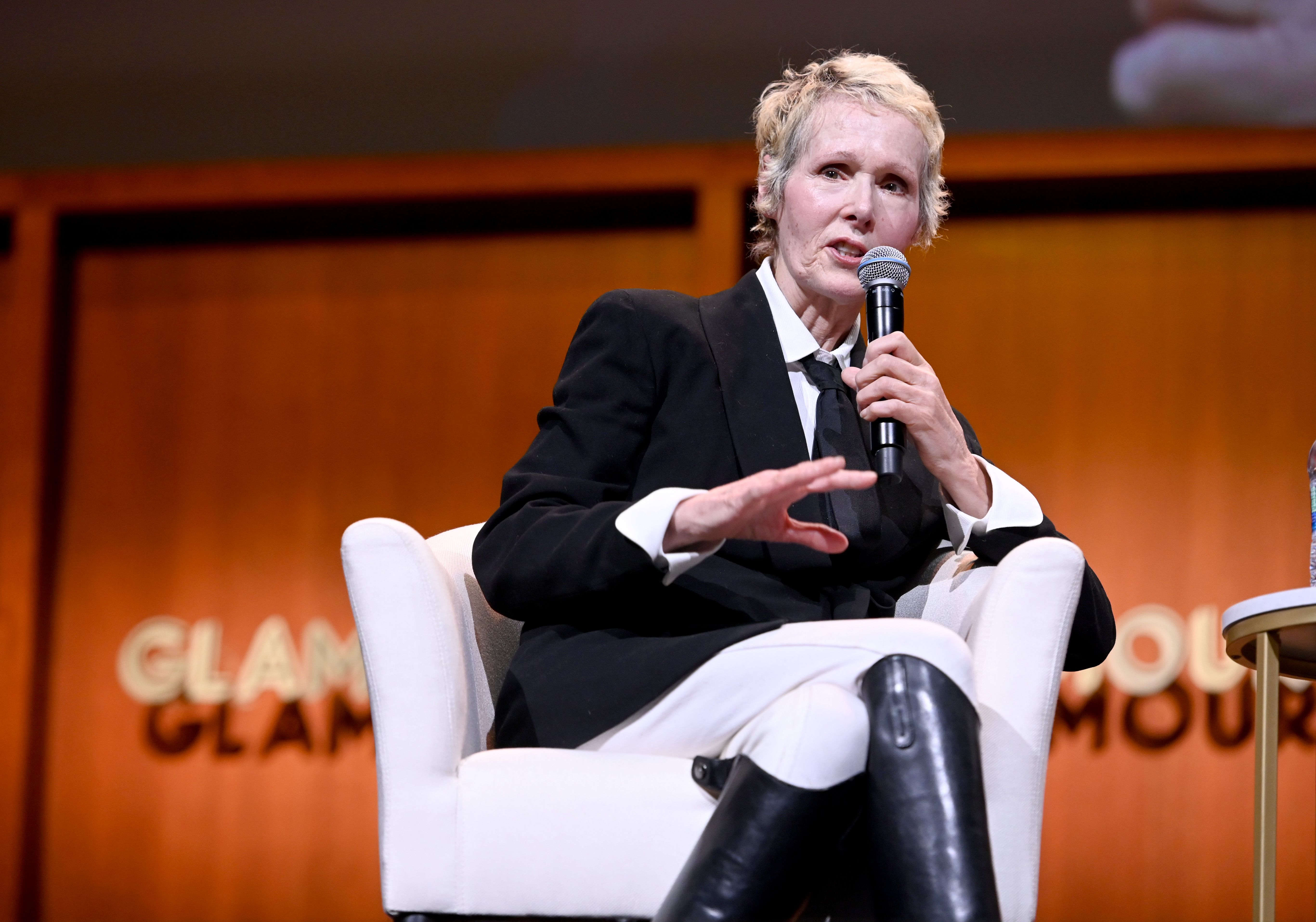 E. Jean Carroll says Trump raped her. She's suing him. Now she's been fired from Elle.